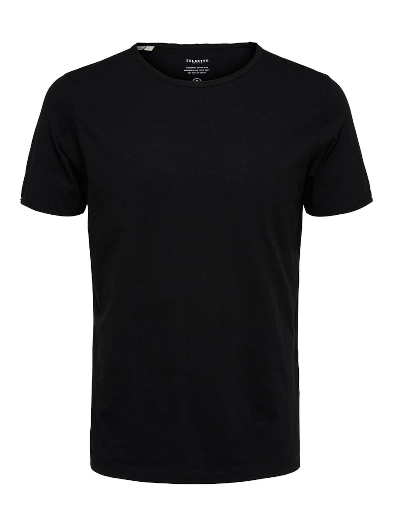 SELECTED HOMME Tričko 'MORGAN'  čierna