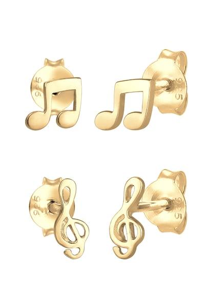 Ohrringe - Ohrringe Note, Notenschlüssel › ELLI › gold  - Onlineshop ABOUT YOU