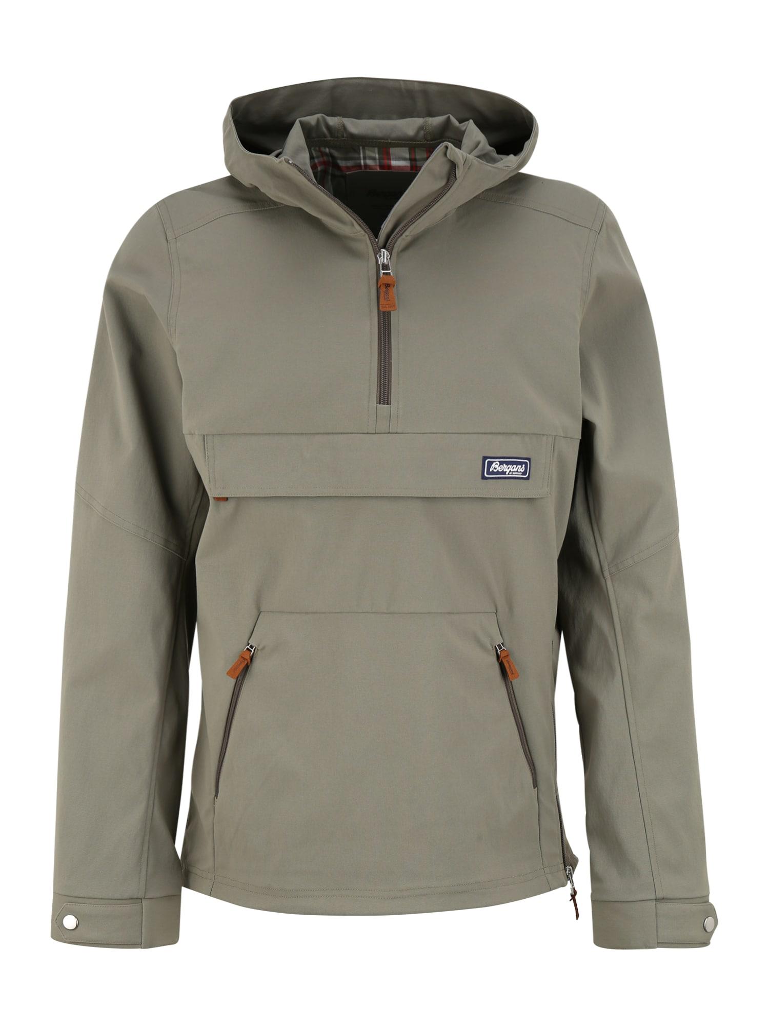 Bergans Sportinė striukė 'Nordmarka' purvo spalva