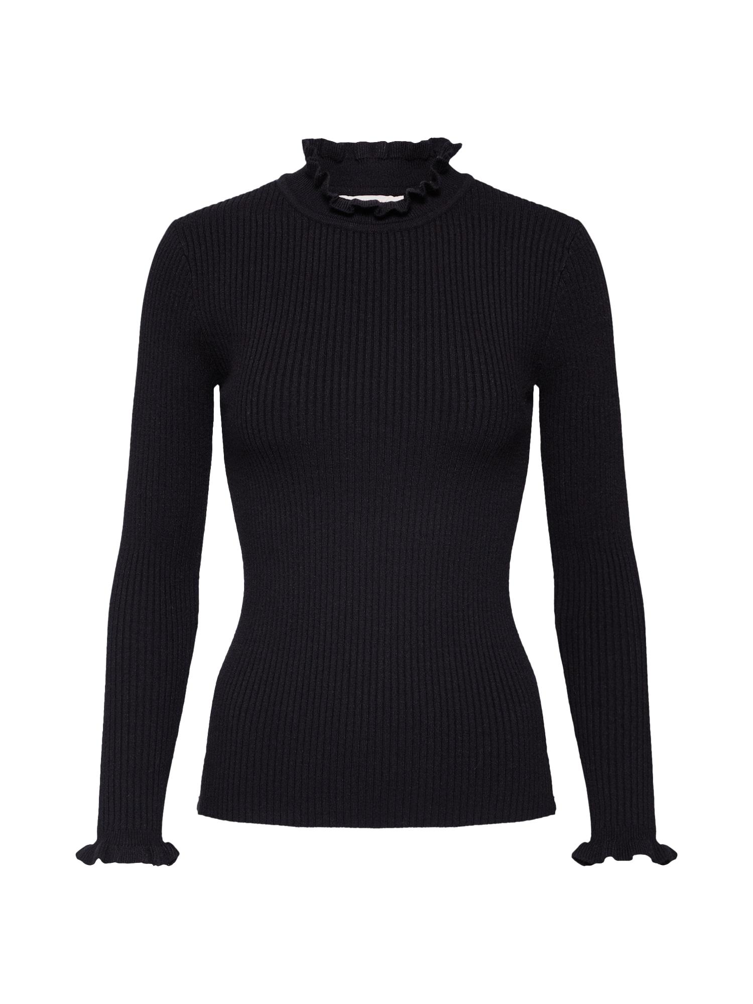 Cream Megztinis 'Helena Pullover' juoda