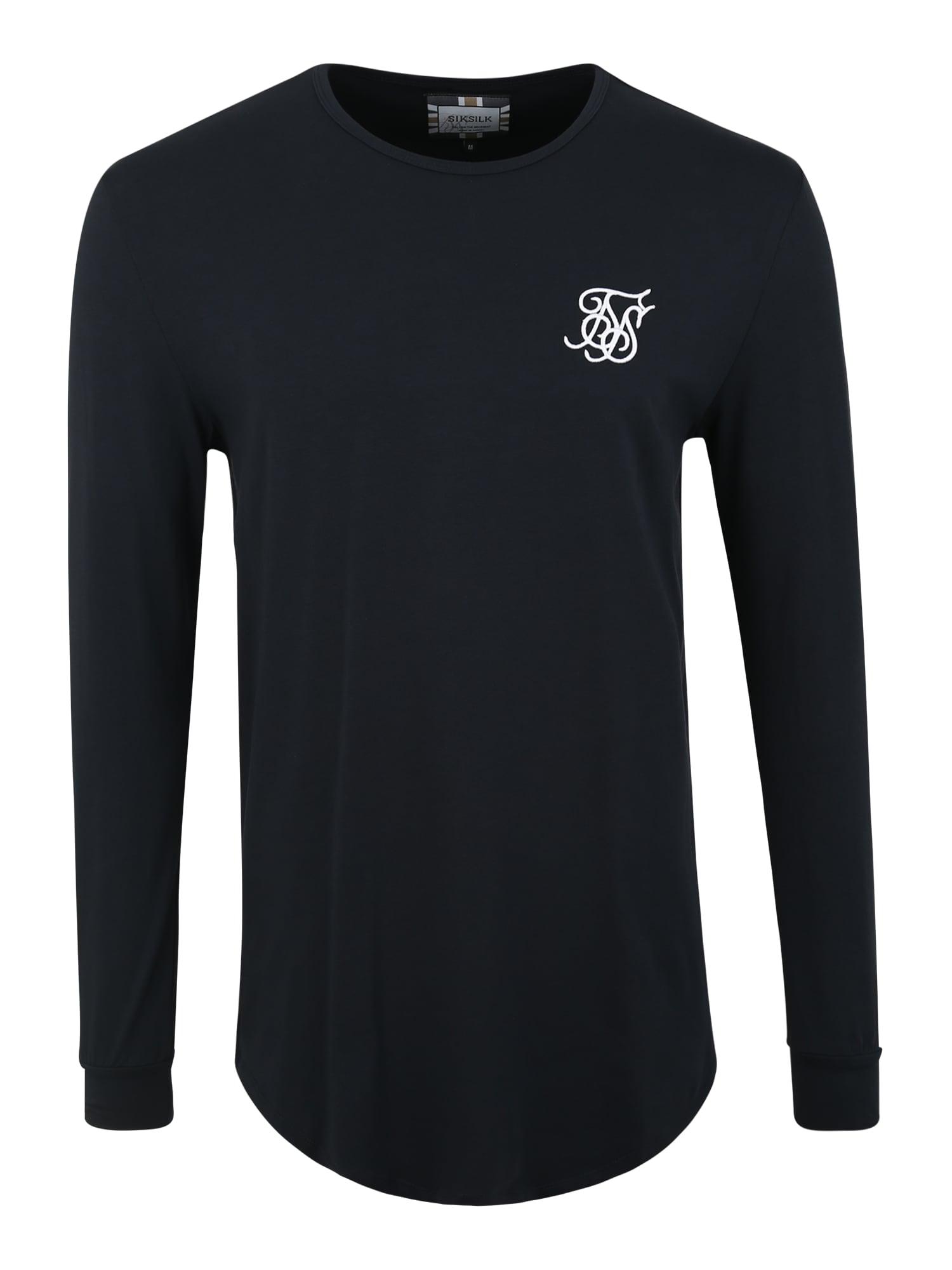 Tričko námořnická modř SikSilk