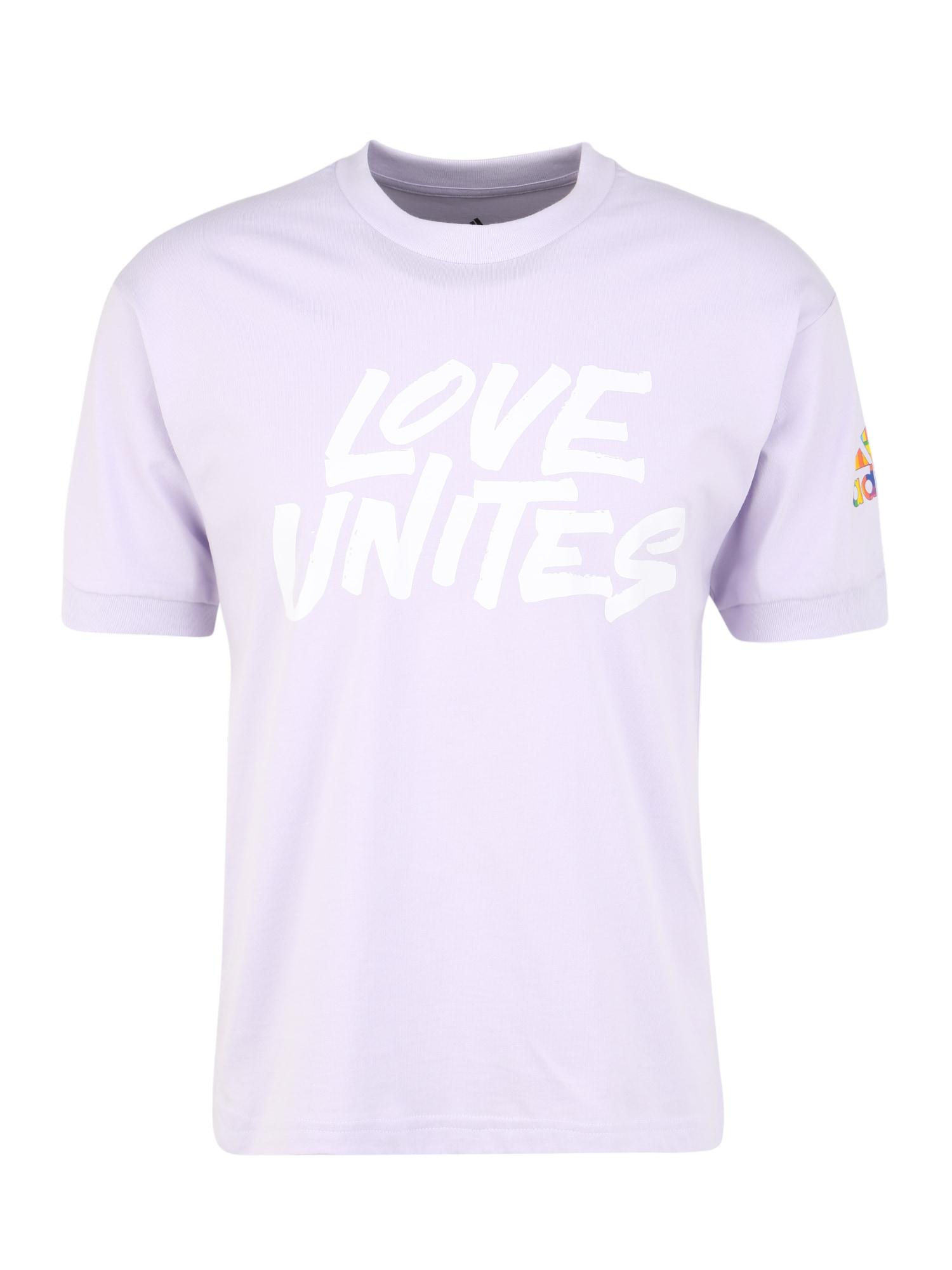 ADIDAS PERFORMANCE Funkčné tričko 'Pride Unites'  orgovánová