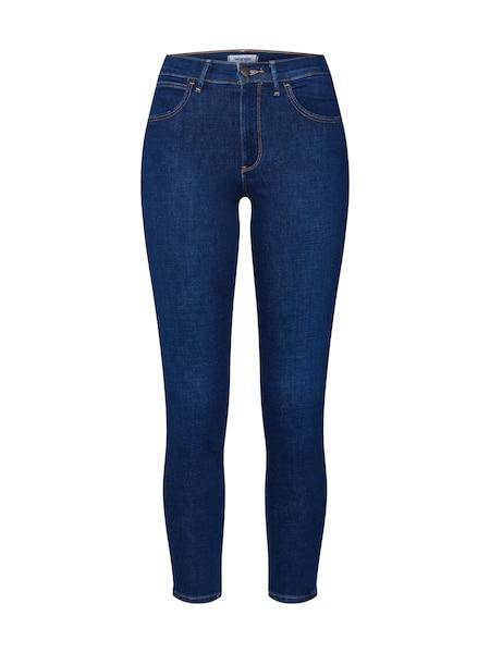 Hosen für Frauen - Skinny Jeans 'High Rise' › Wrangler › blue denim  - Onlineshop ABOUT YOU
