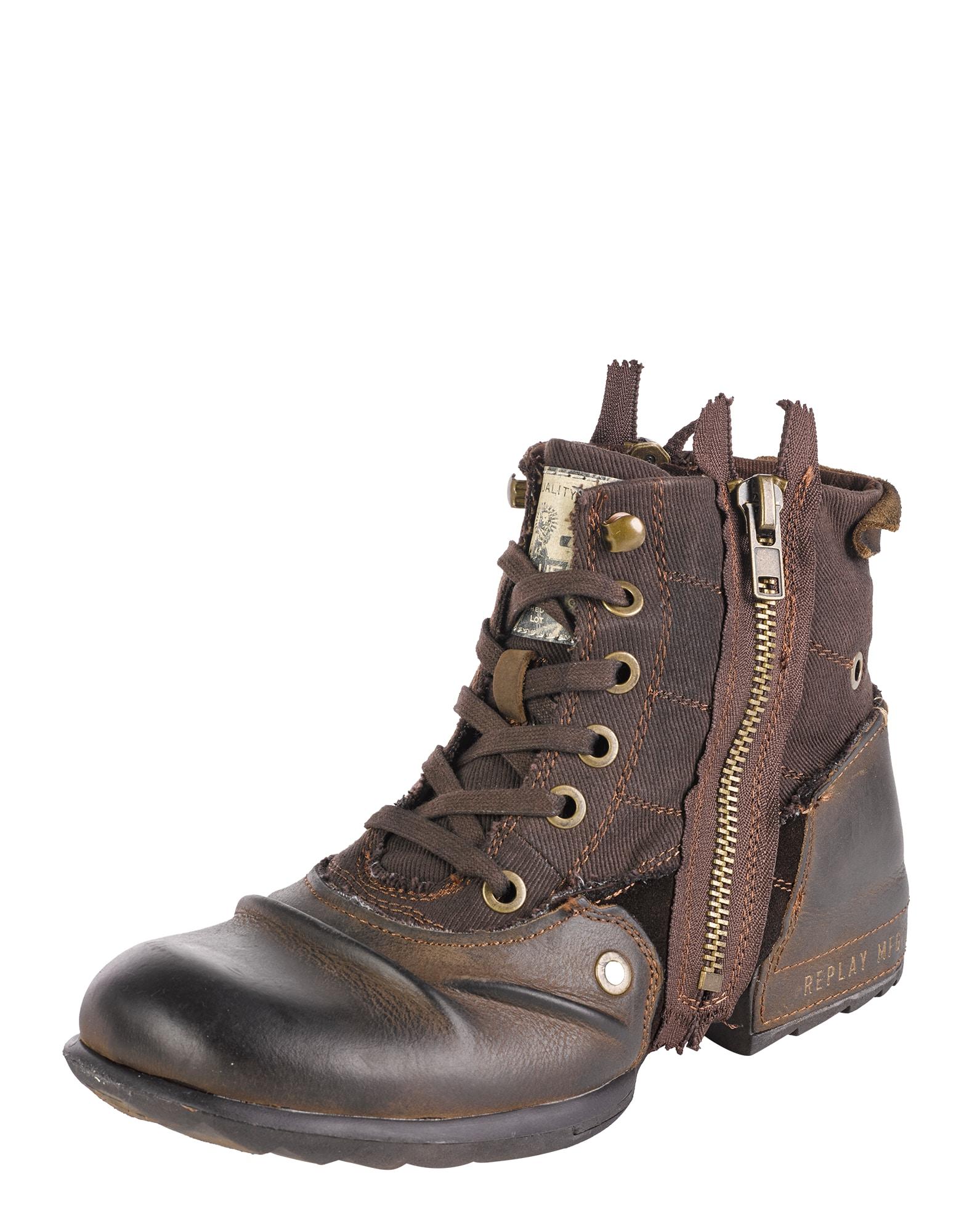 REPLAY Auliniai batai su raišteliais