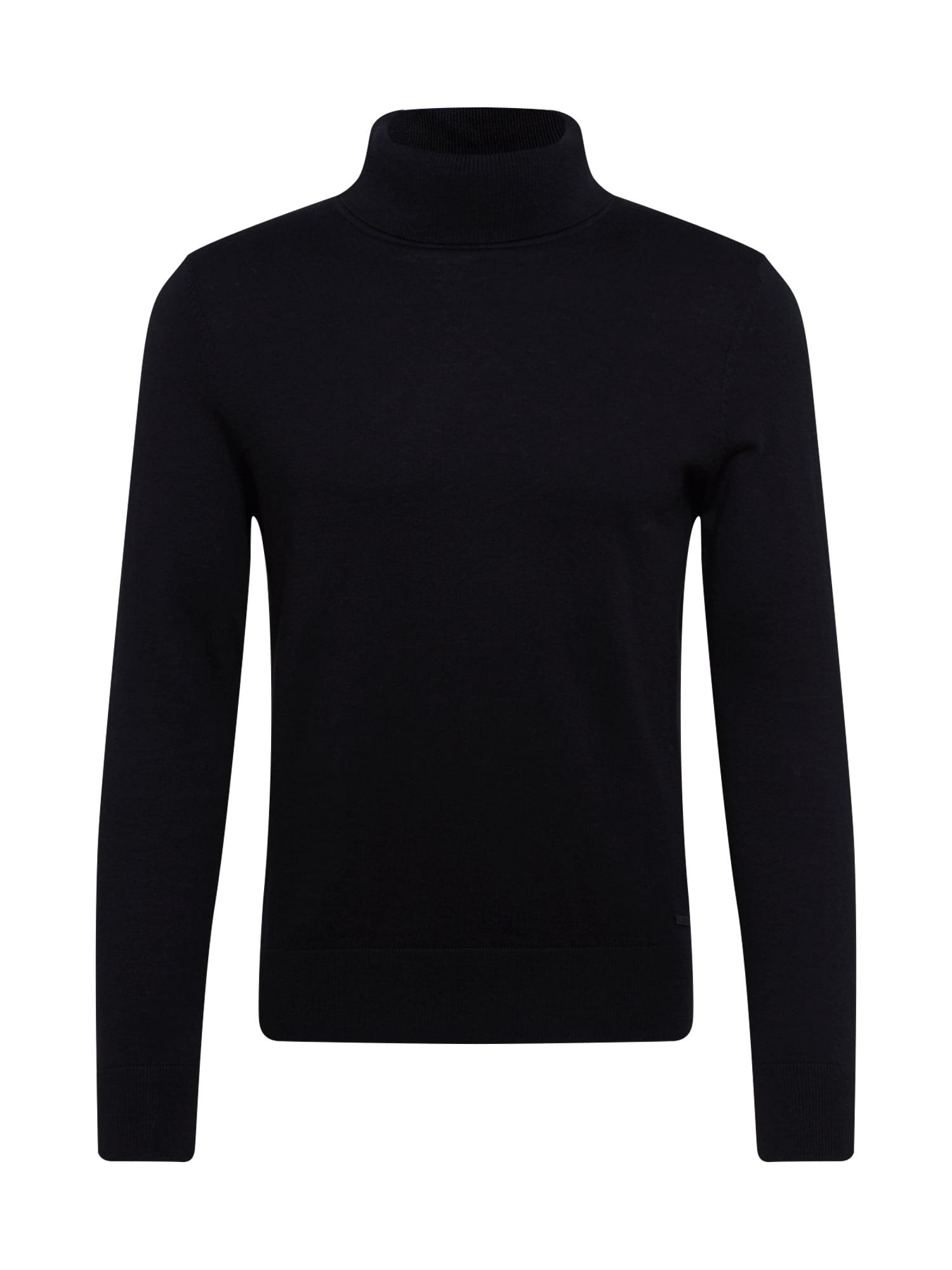 BOSS Megztinis juoda