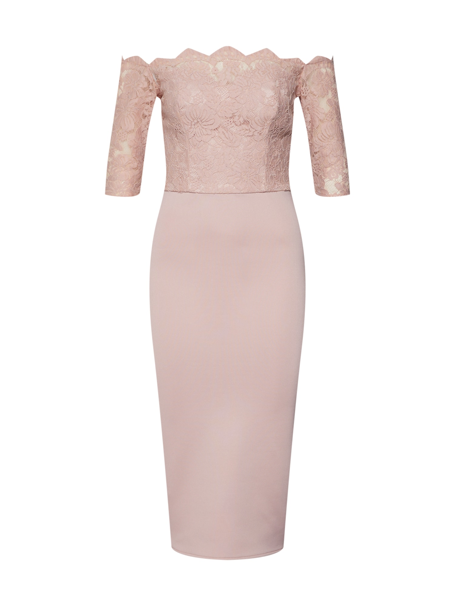 Koktejlové šaty Marcella růže Chi Chi London