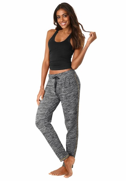Hosen für Frauen - Leggings › Buffalo › schwarzmeliert  - Onlineshop ABOUT YOU