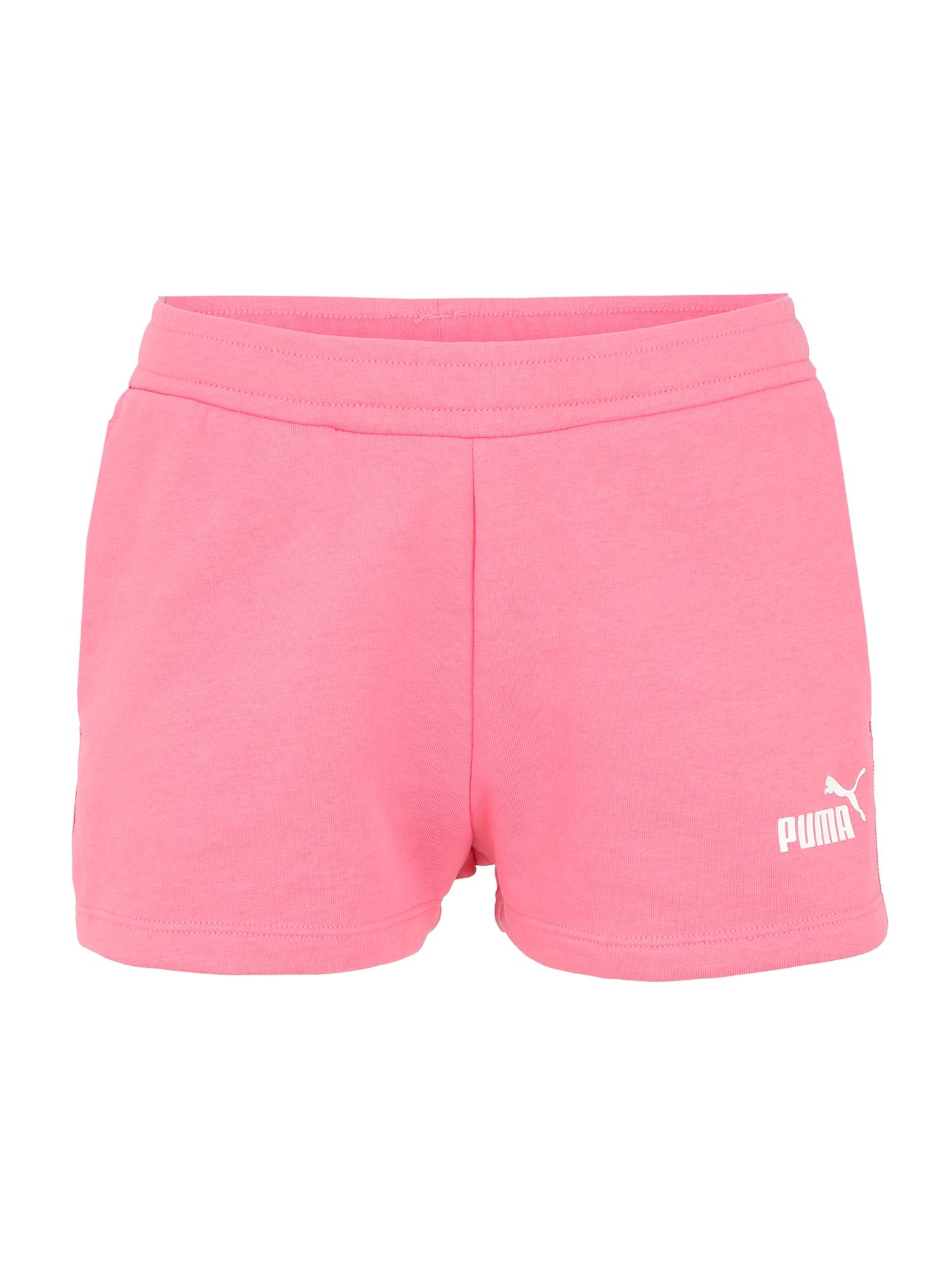 PUMA Sportinės kelnės 'Amplified 2' rožinė / balta