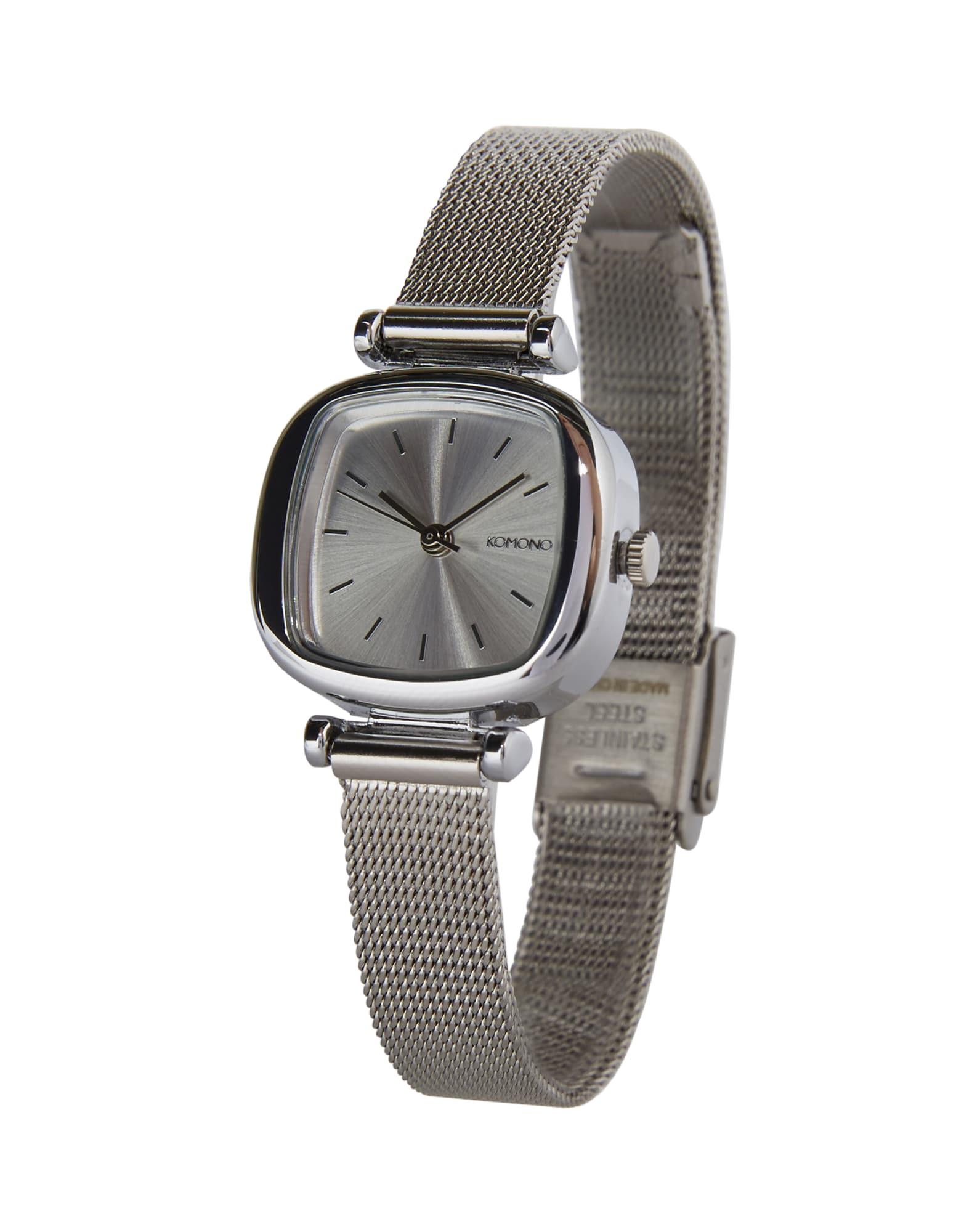 Analogové hodinky Moneypenny Royale stříbrná Komono