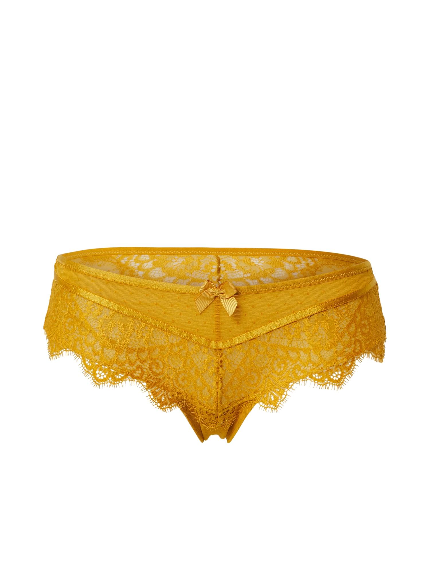 Hunkemöller Nohavičky 'Marilee'  zlatá / žlté