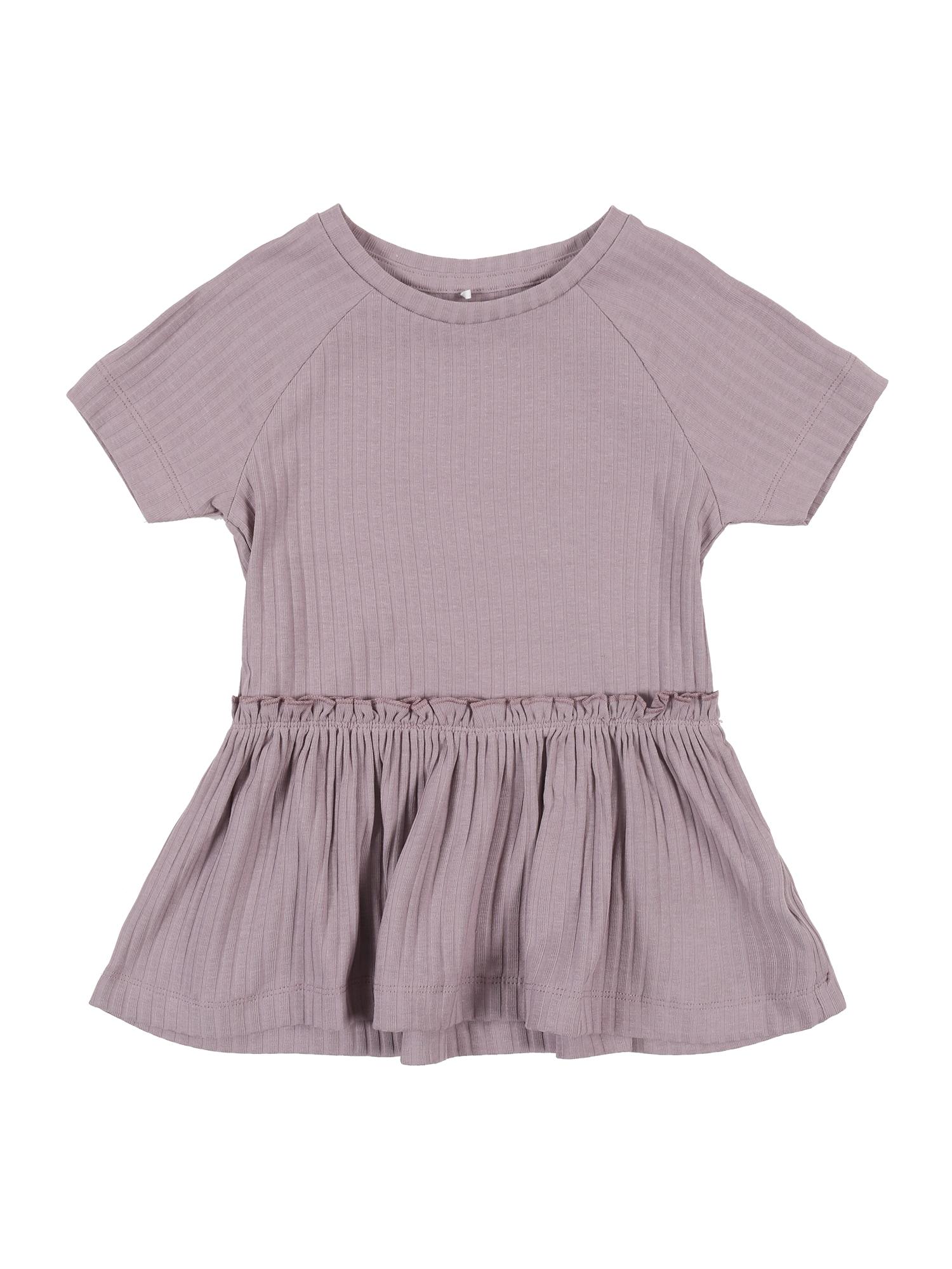 NAME IT Marškinėliai 'Julika' purpurinė