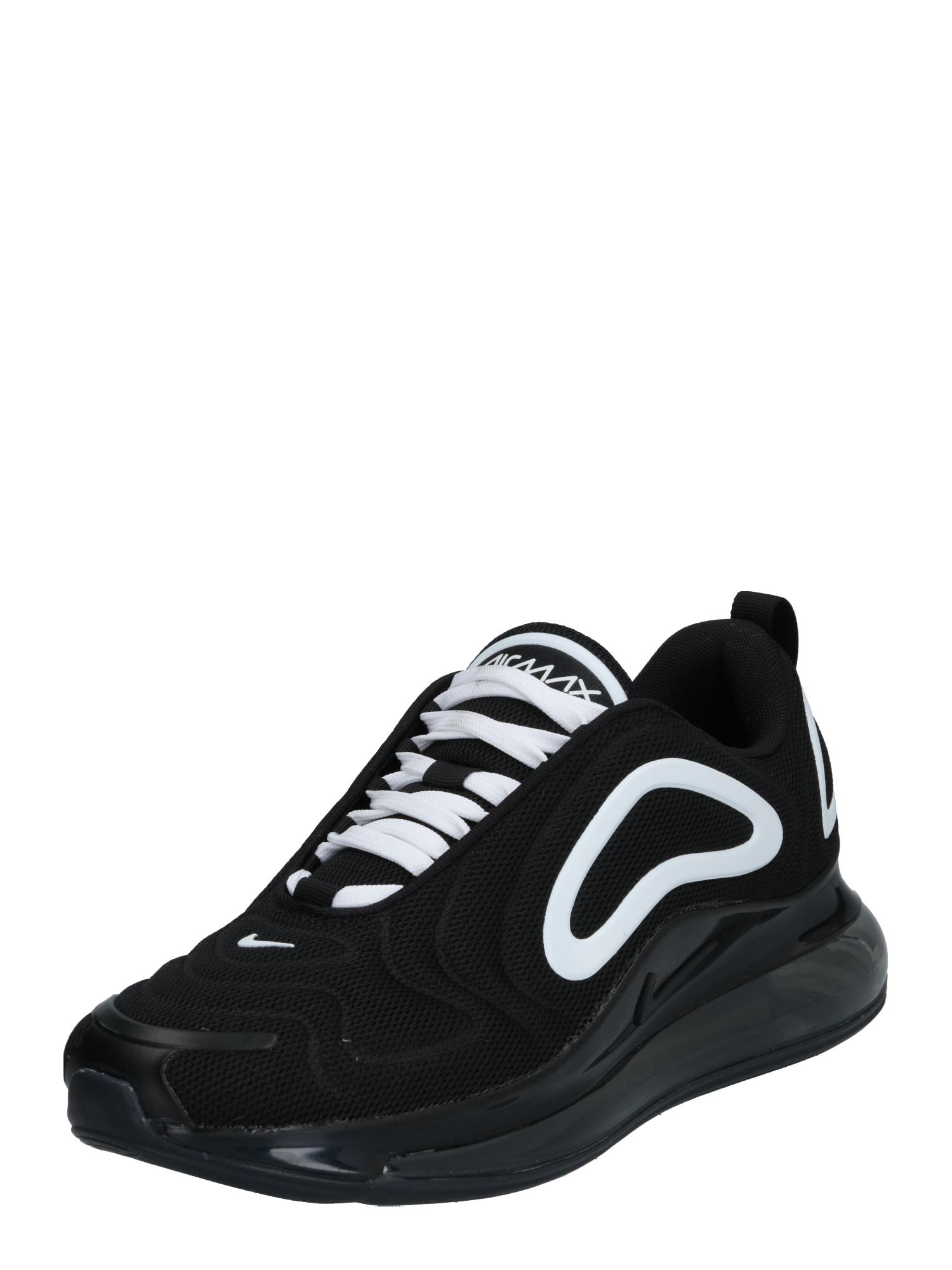 Nike Sportswear Sportbačiai be auliuko 'Nike Air Max 720' balta / juoda