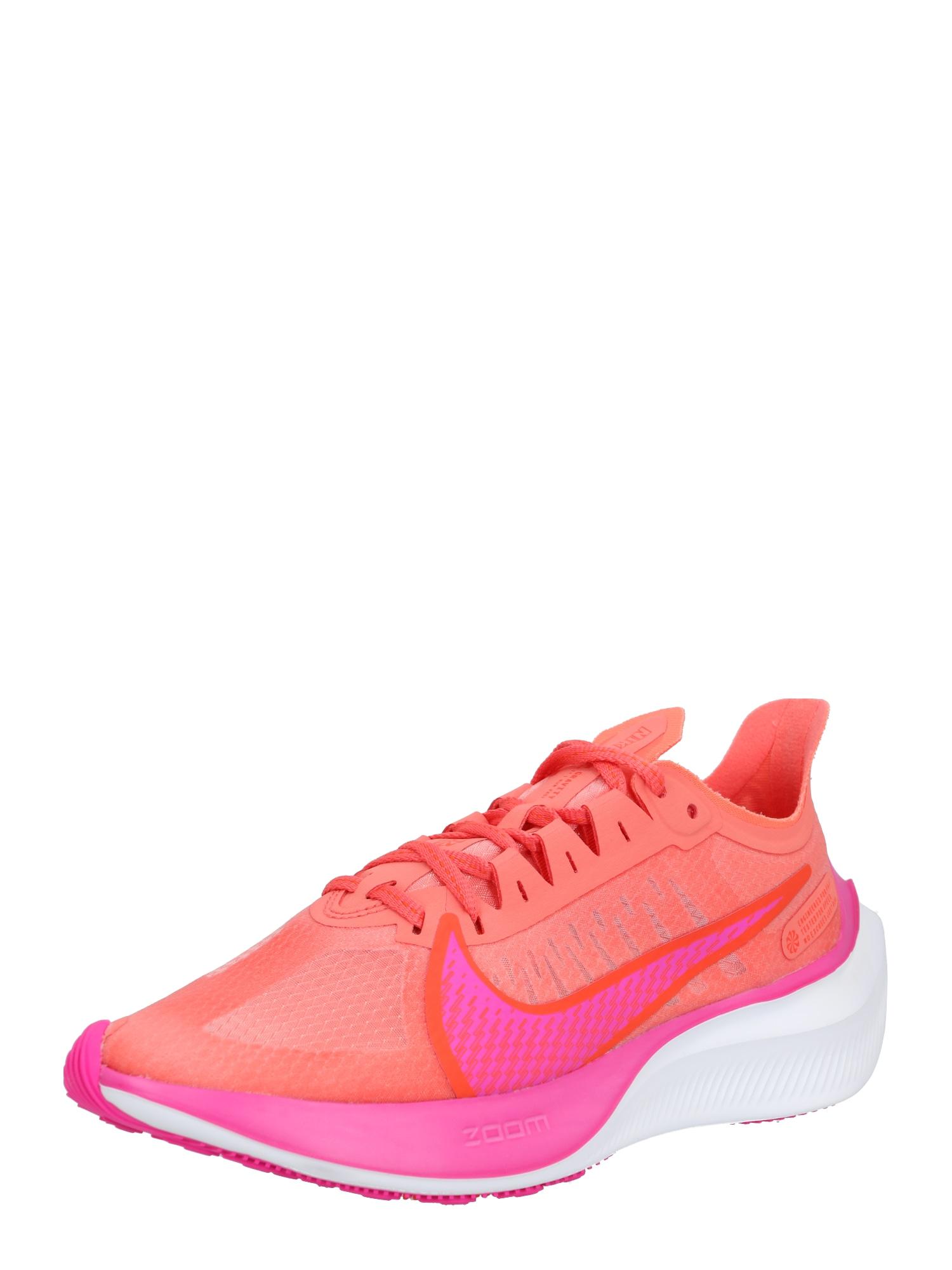 NIKE Bežecká obuv 'Nike Zoom Gravity'  ružová / oranžová