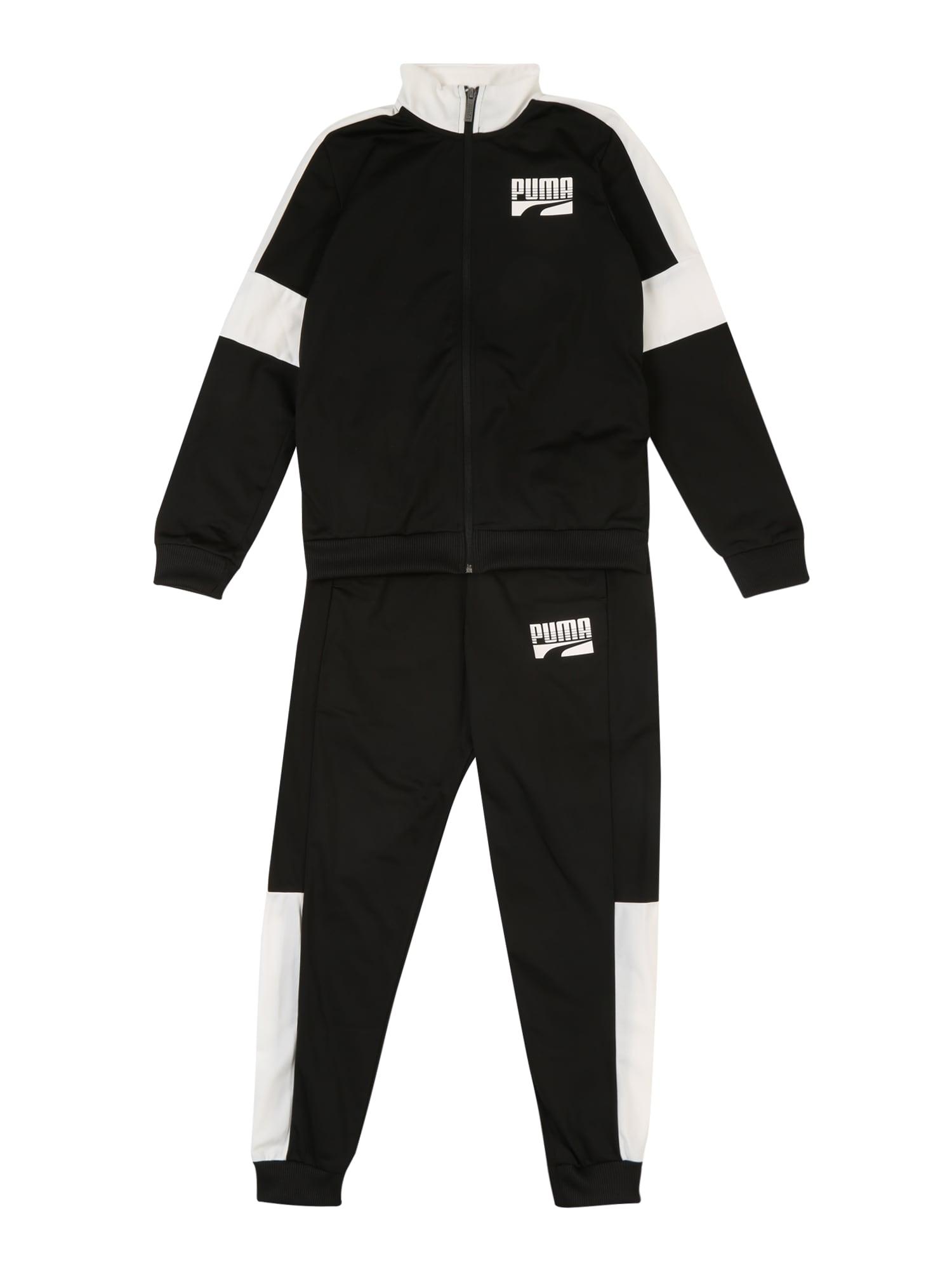Sportovní oblečení Rebel Suit cl B černá bílá PUMA