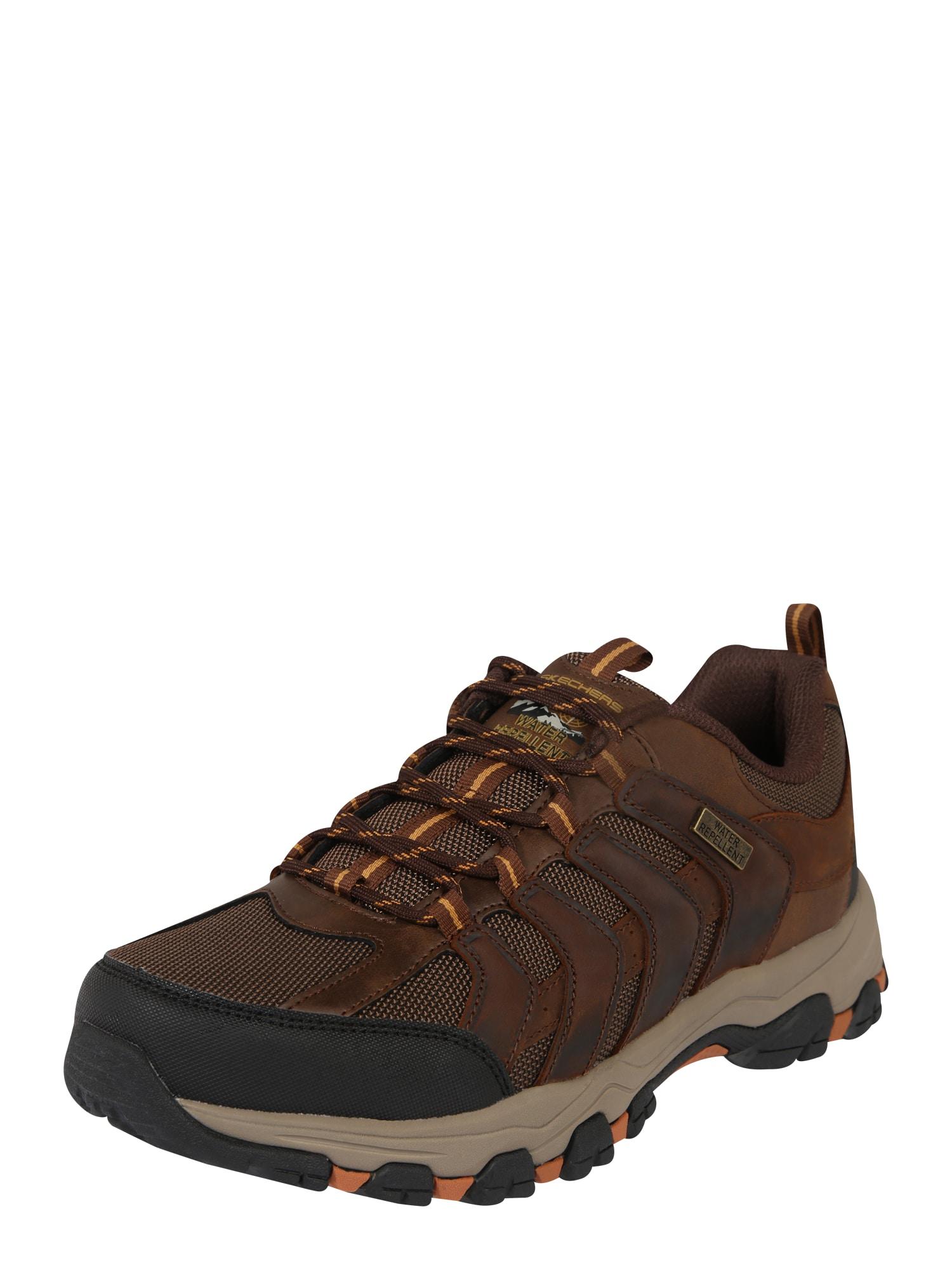 Skechers Performance Sportiniai batai 'SELMEN LORAGO' tamsiai ruda