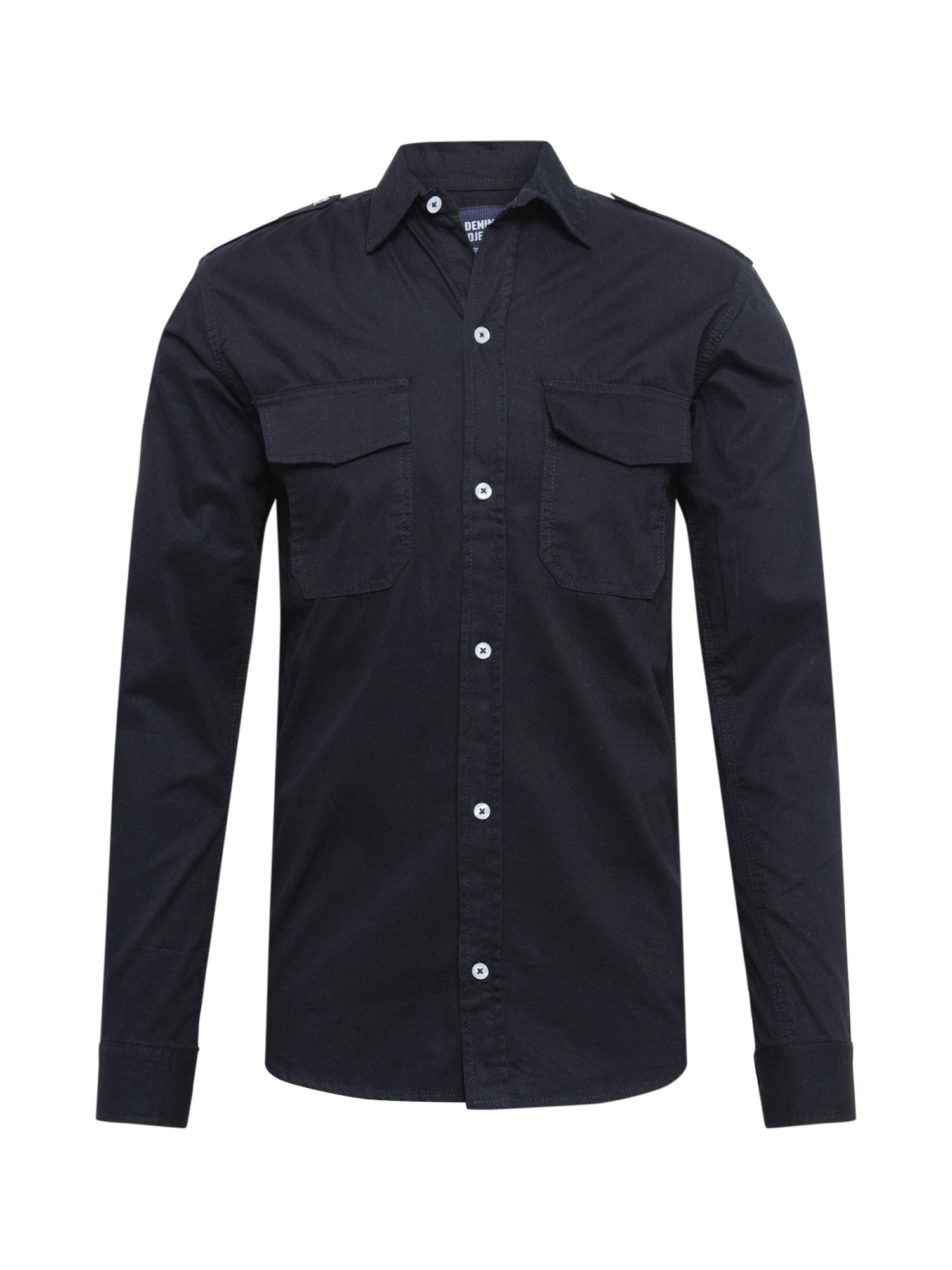 Denim Project Marškiniai juoda
