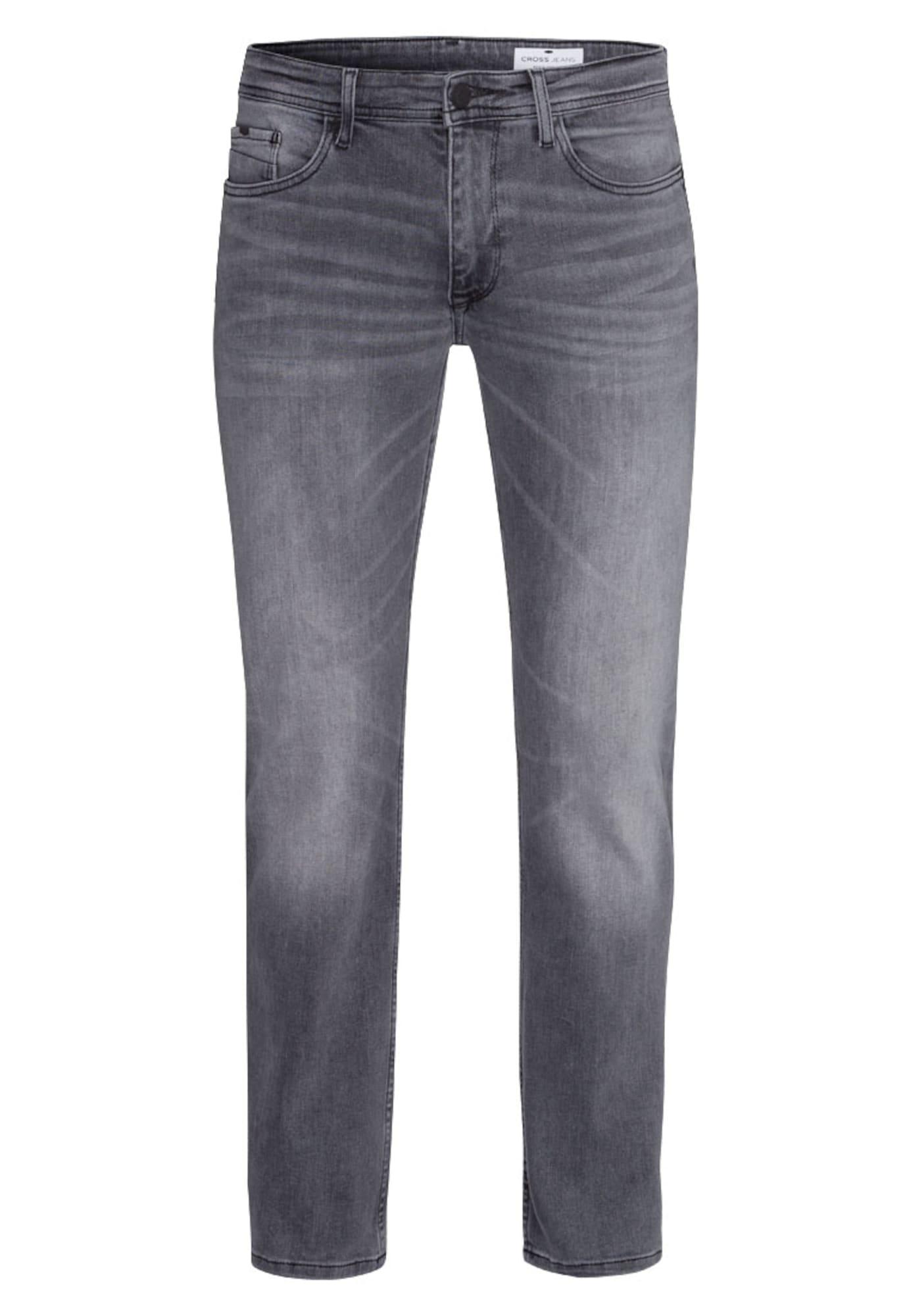 Džíny Antonio šedá džínová Cross Jeans