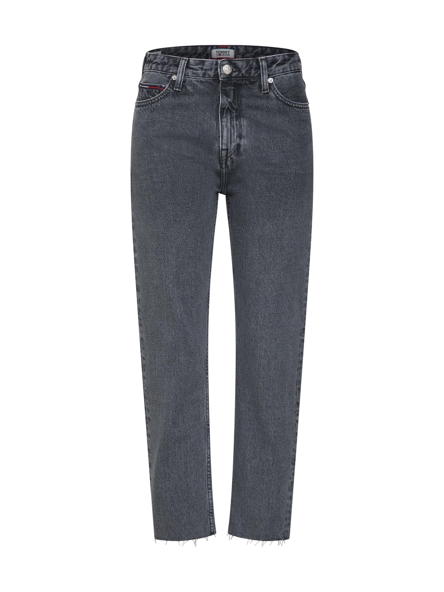 Džíny HIGH RISE SLIM IZZY šedá džínová Tommy Jeans