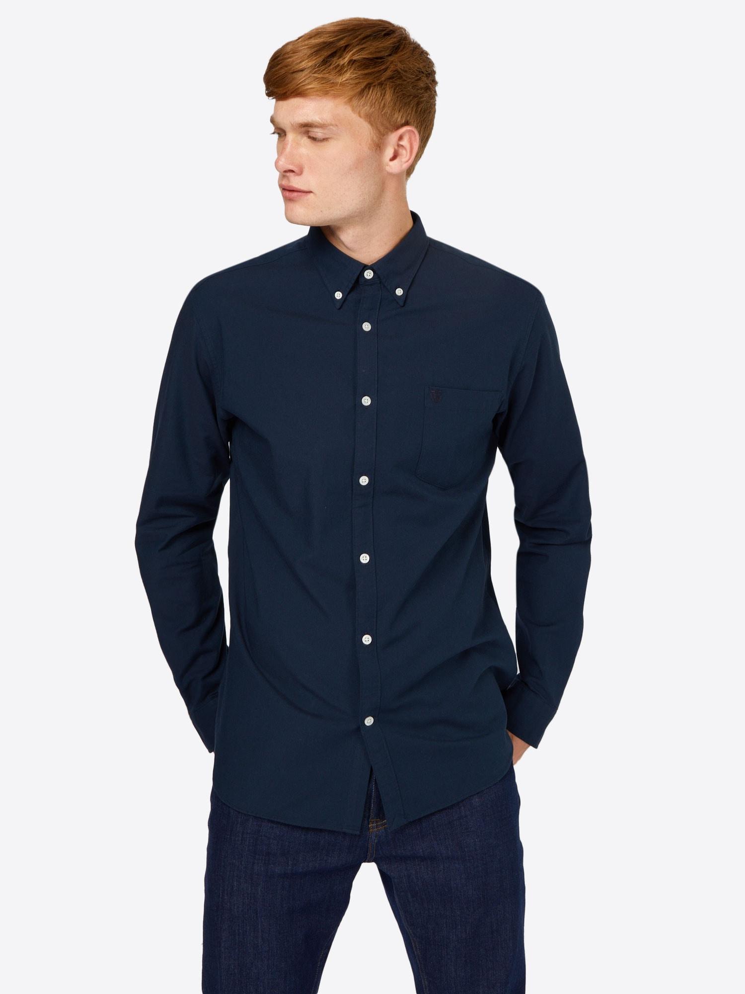 SELECTED HOMME Skjorta 'Collect'  mörkblå
