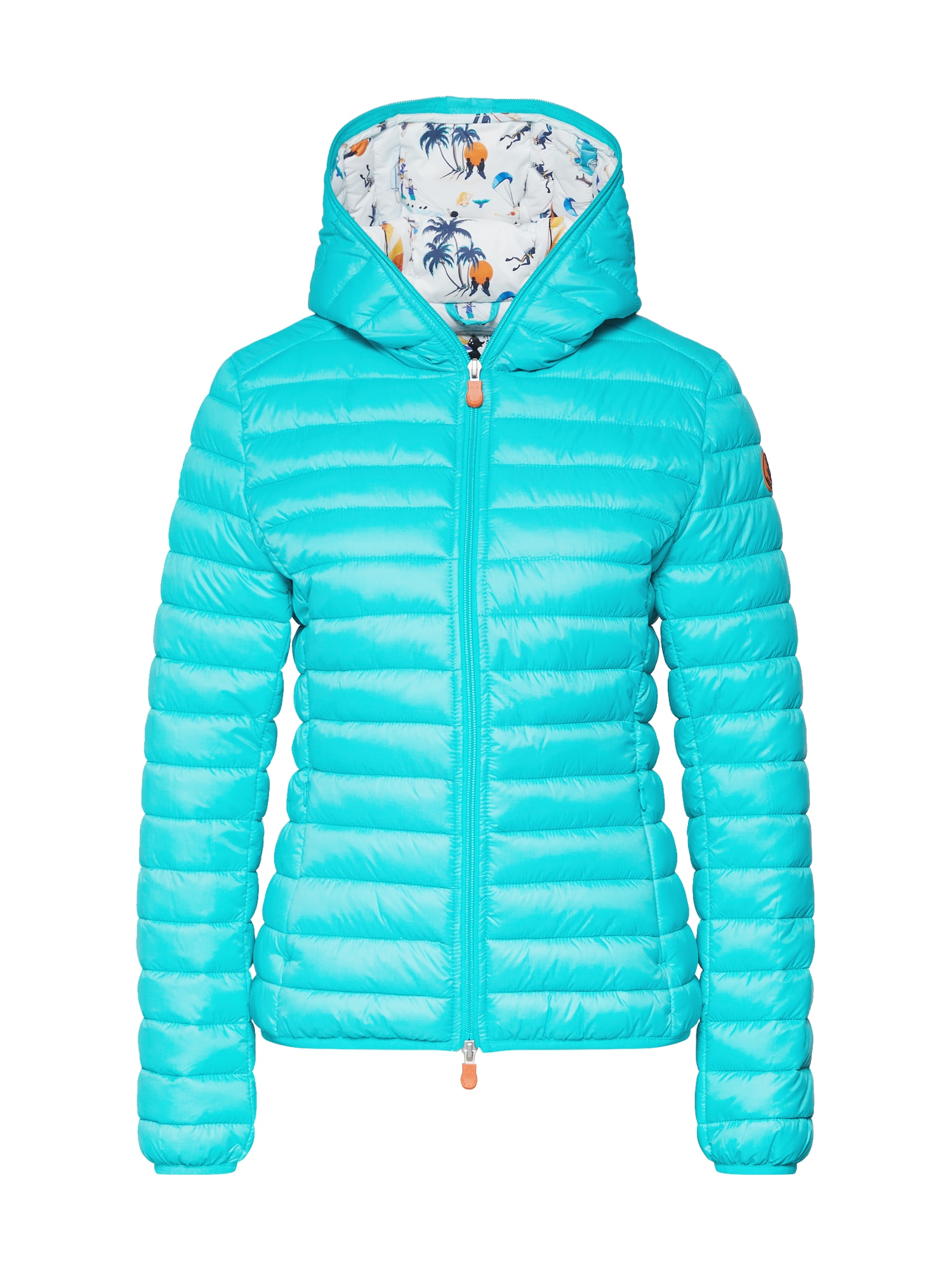 Zimní bunda GIUBBOTTO CAPPUCCIO mix barev SAVE THE DUCK