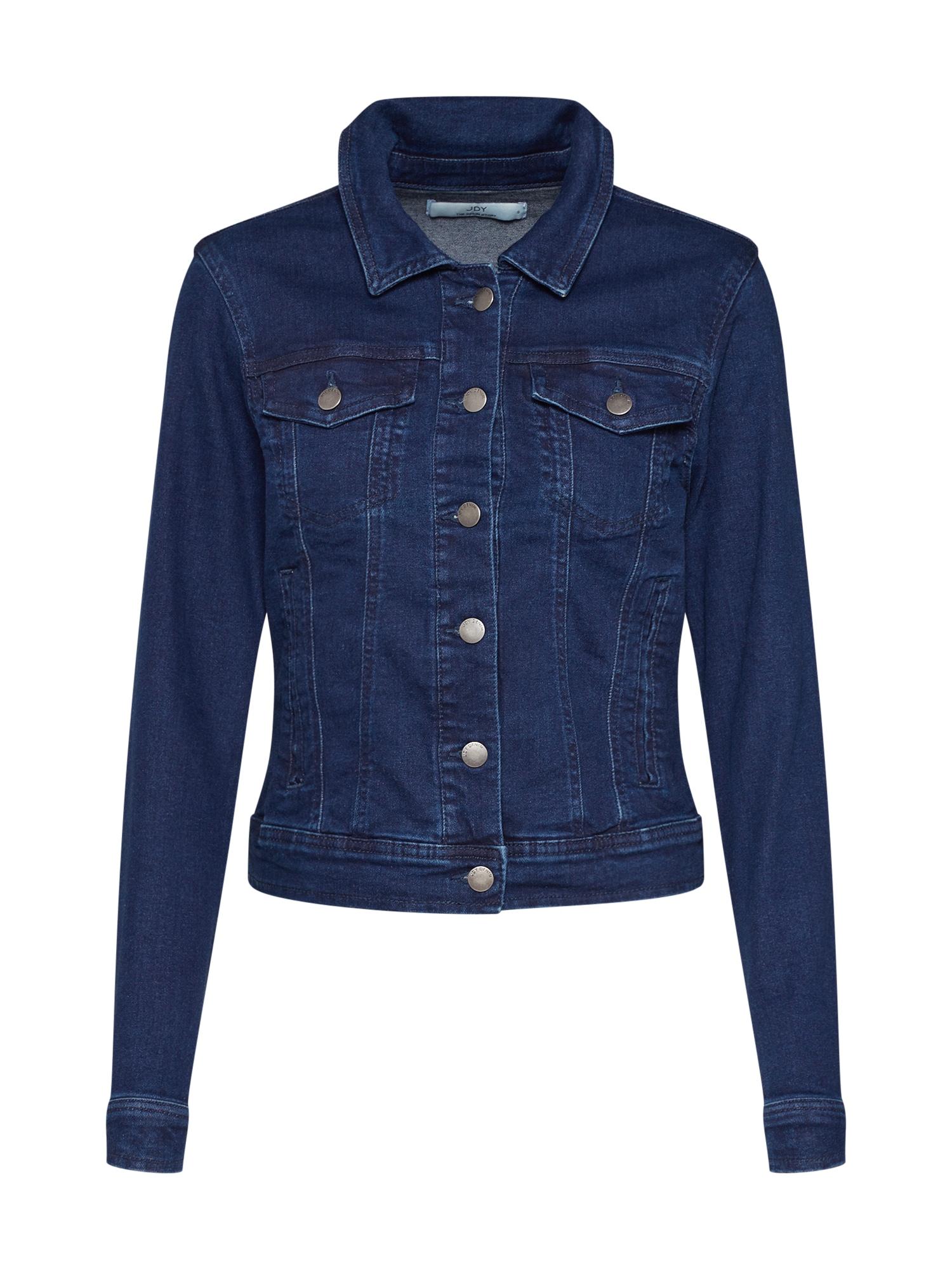 JACQUELINE de YONG Demisezoninė striukė 'WINNER' tamsiai (džinso) mėlyna