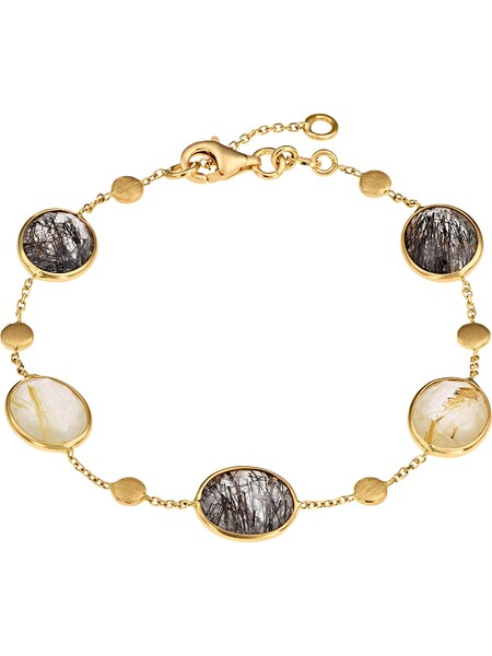 Armbaender - Armband '87482294' › Christ › gold dunkelgrau perlweiß  - Onlineshop ABOUT YOU