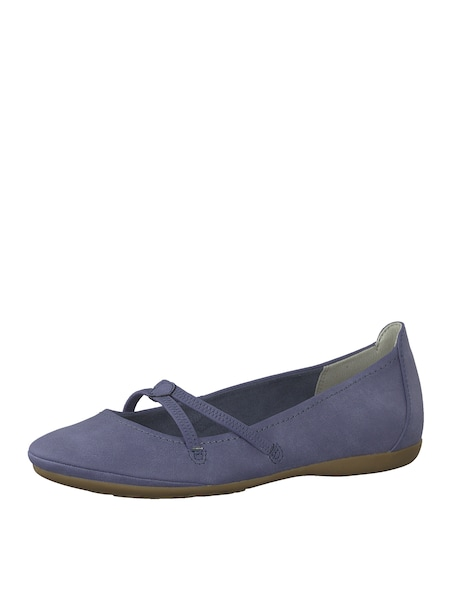 Ballerinas für Frauen - Ballerina › tamaris › taubenblau  - Onlineshop ABOUT YOU