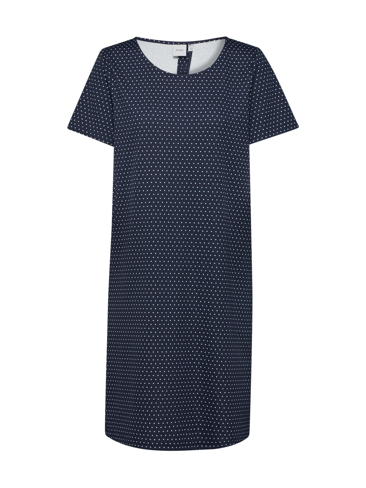 ICHI Vasarinė suknelė 'IHKATE SPOT DR' tamsiai mėlyna