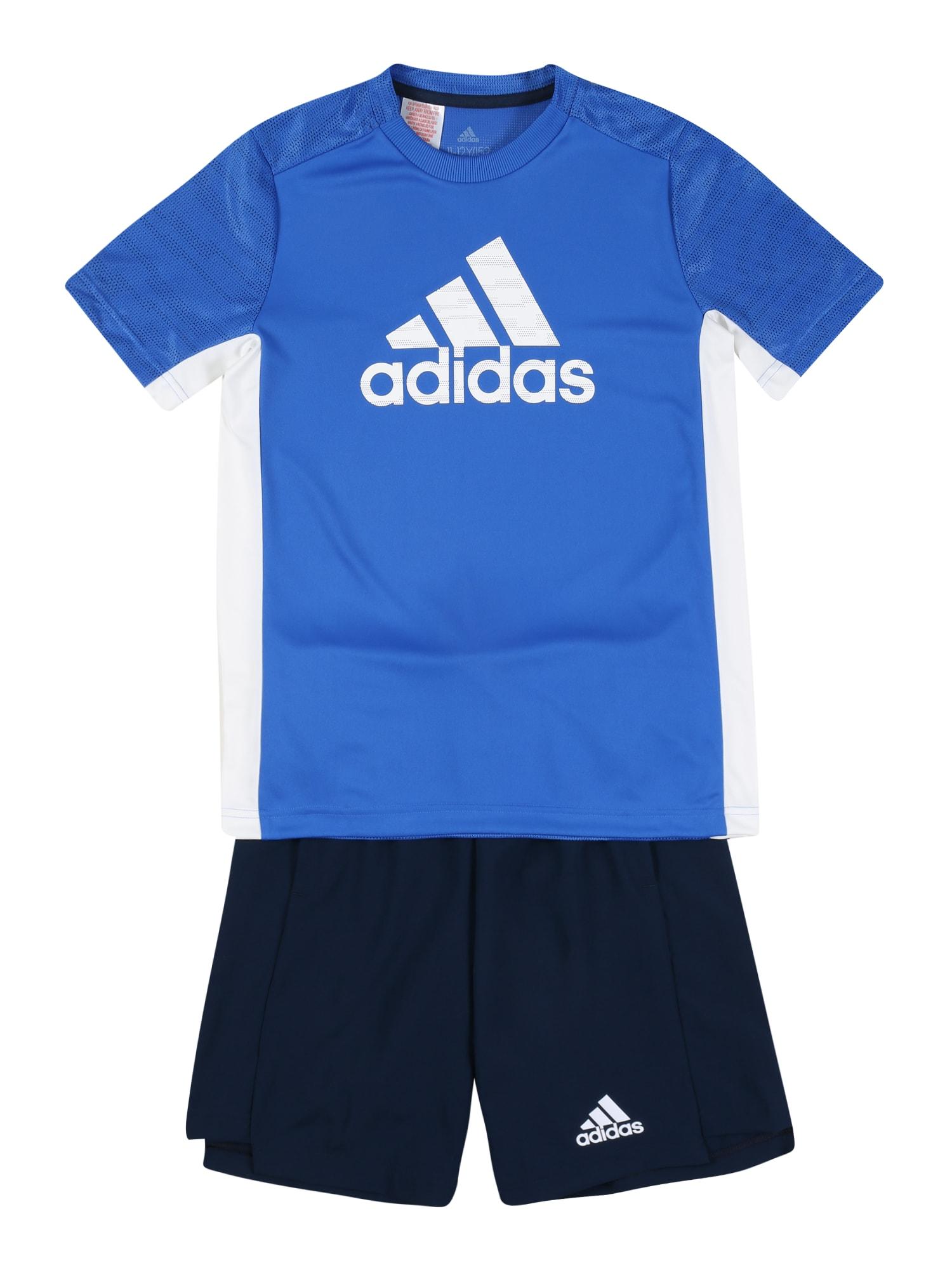 ADIDAS PERFORMANCE Sportinis kostiumas tamsiai mėlyna / juoda