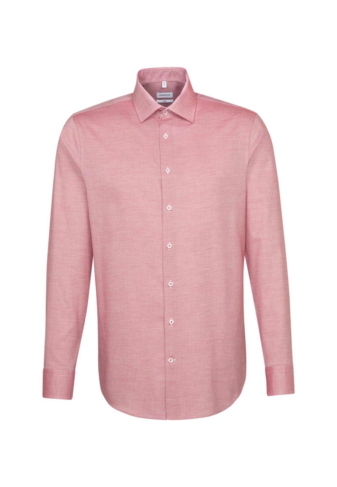 SEIDENSTICKER Biznis košeľa  pastelovo červená