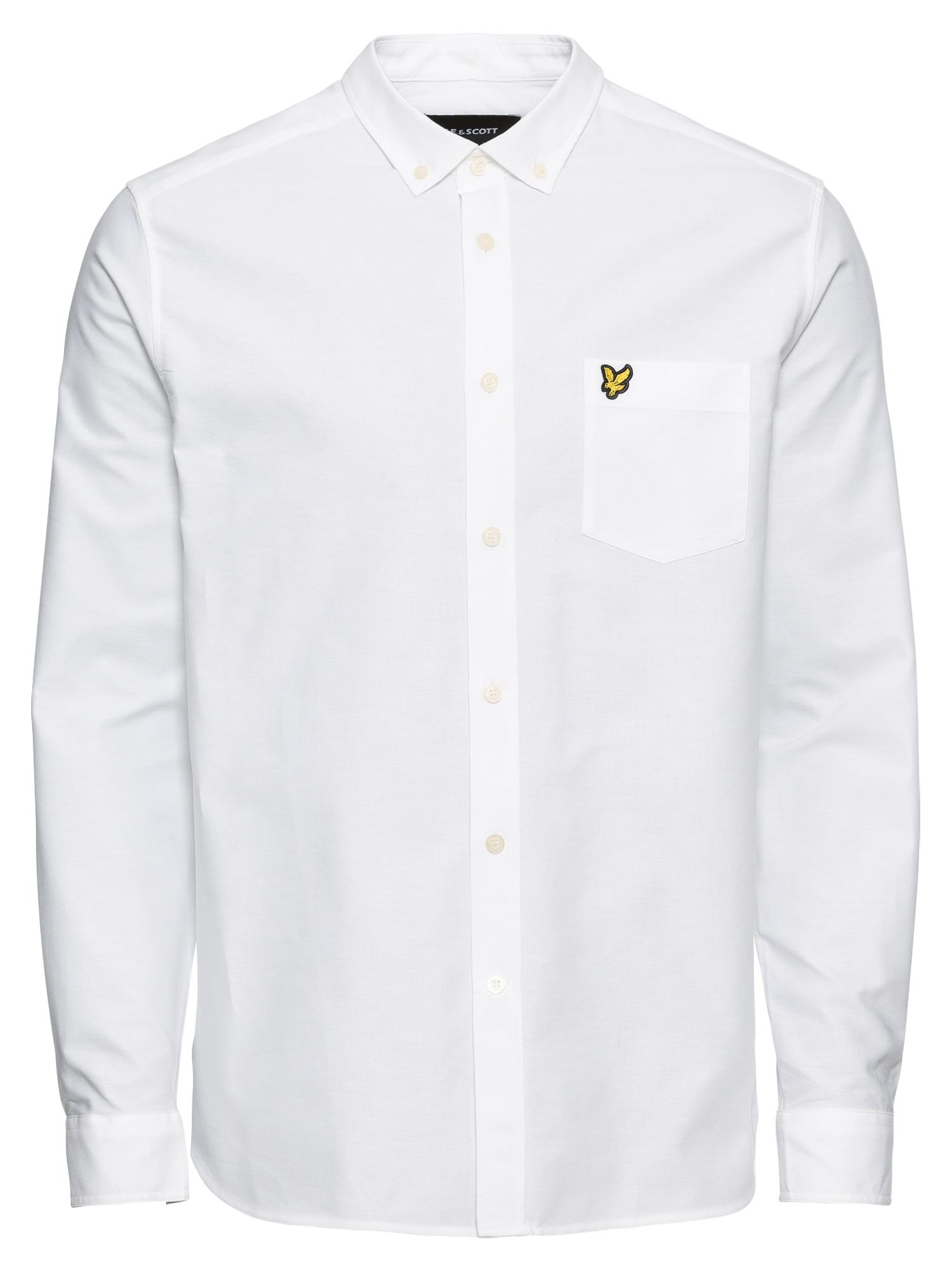 Košile Oxford Shirt bílá Lyle & Scott