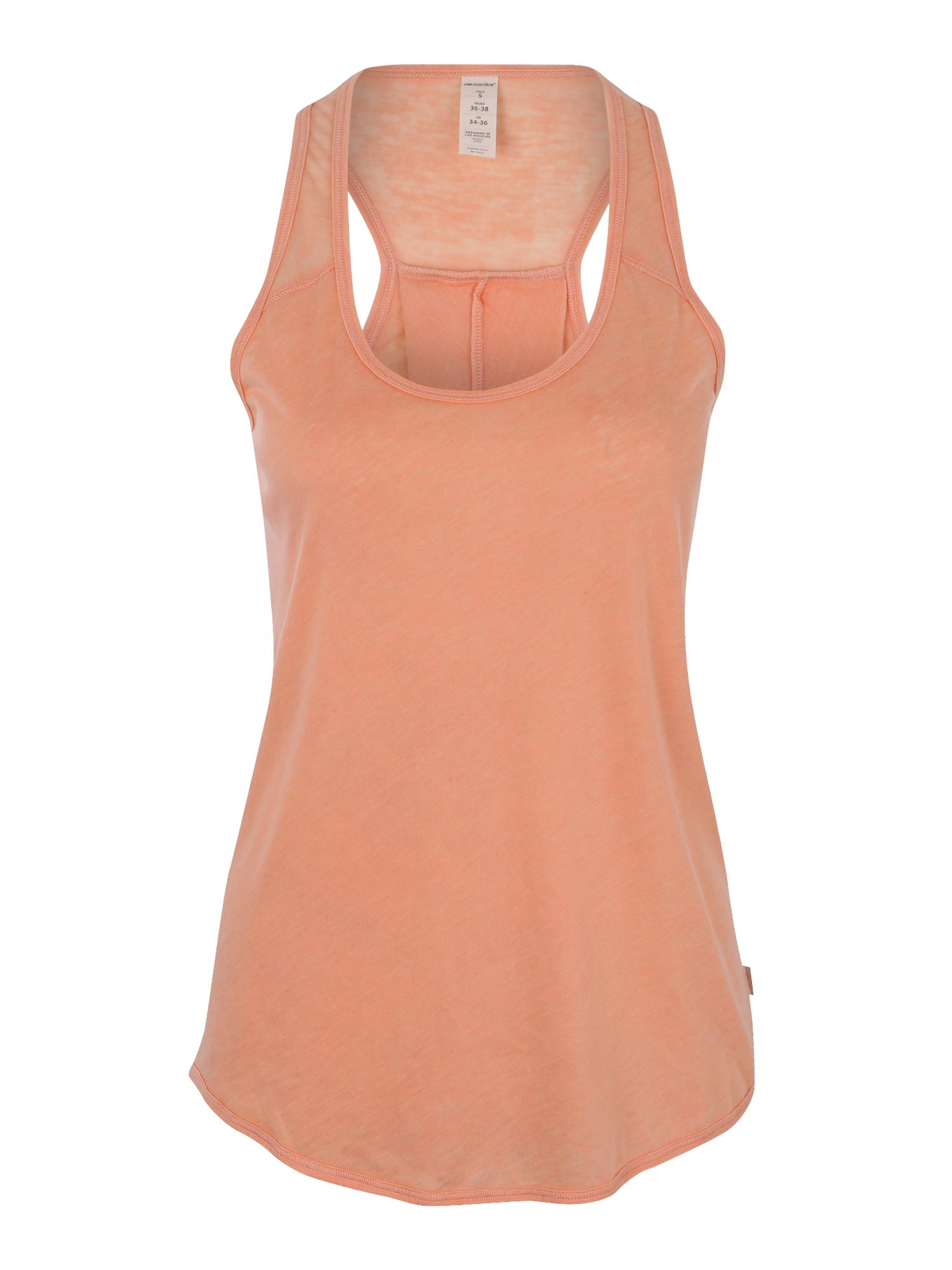 Funkční tričko MEGAN pastelově oranžová Marika