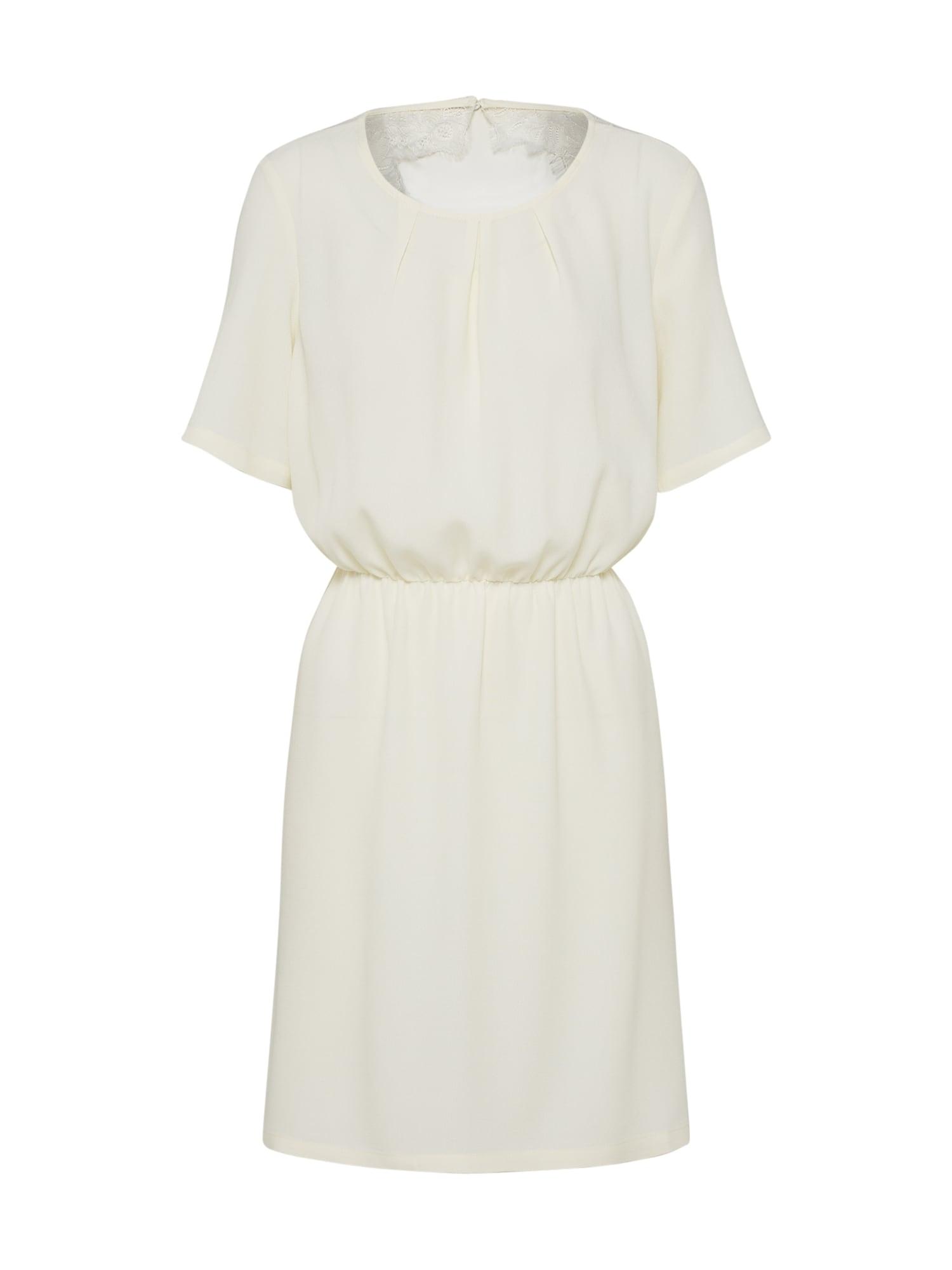 Koktejlové šaty Clarina bílá Minimum