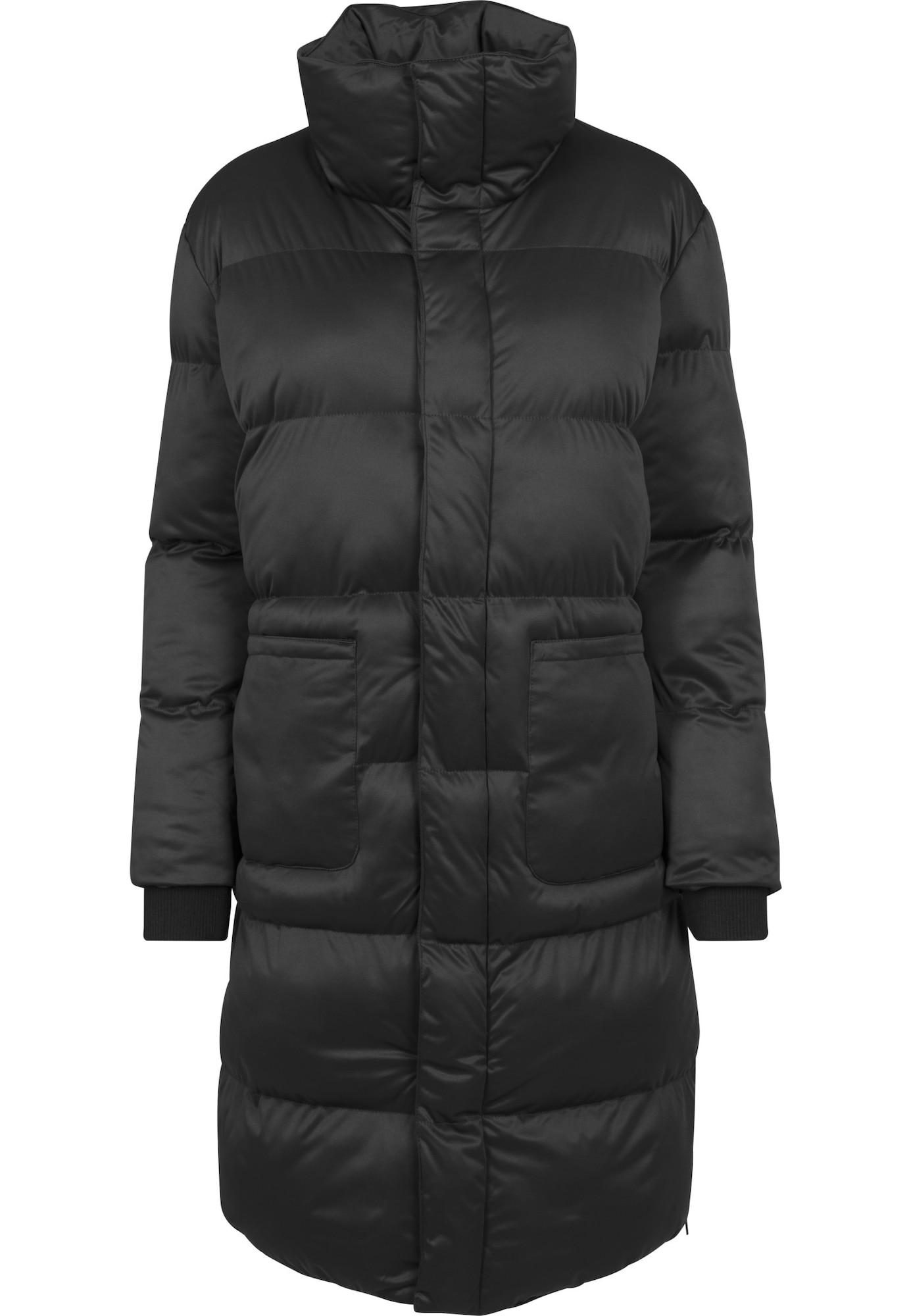 Urban Classics Žieminis paltas juoda