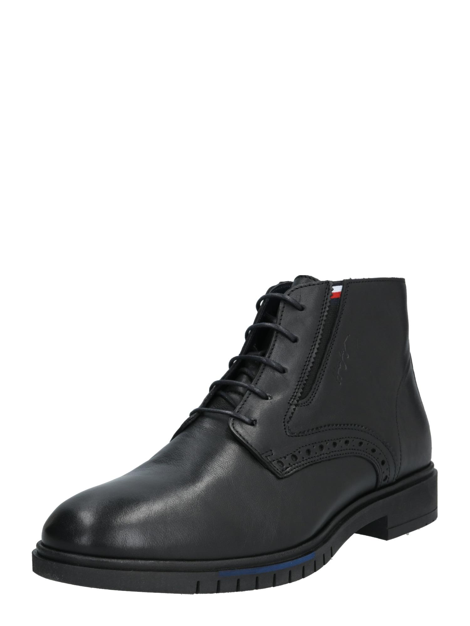 Herren Tommy Hilfiger Boots 'TH ADVANCE' schwarz | 08719859184176