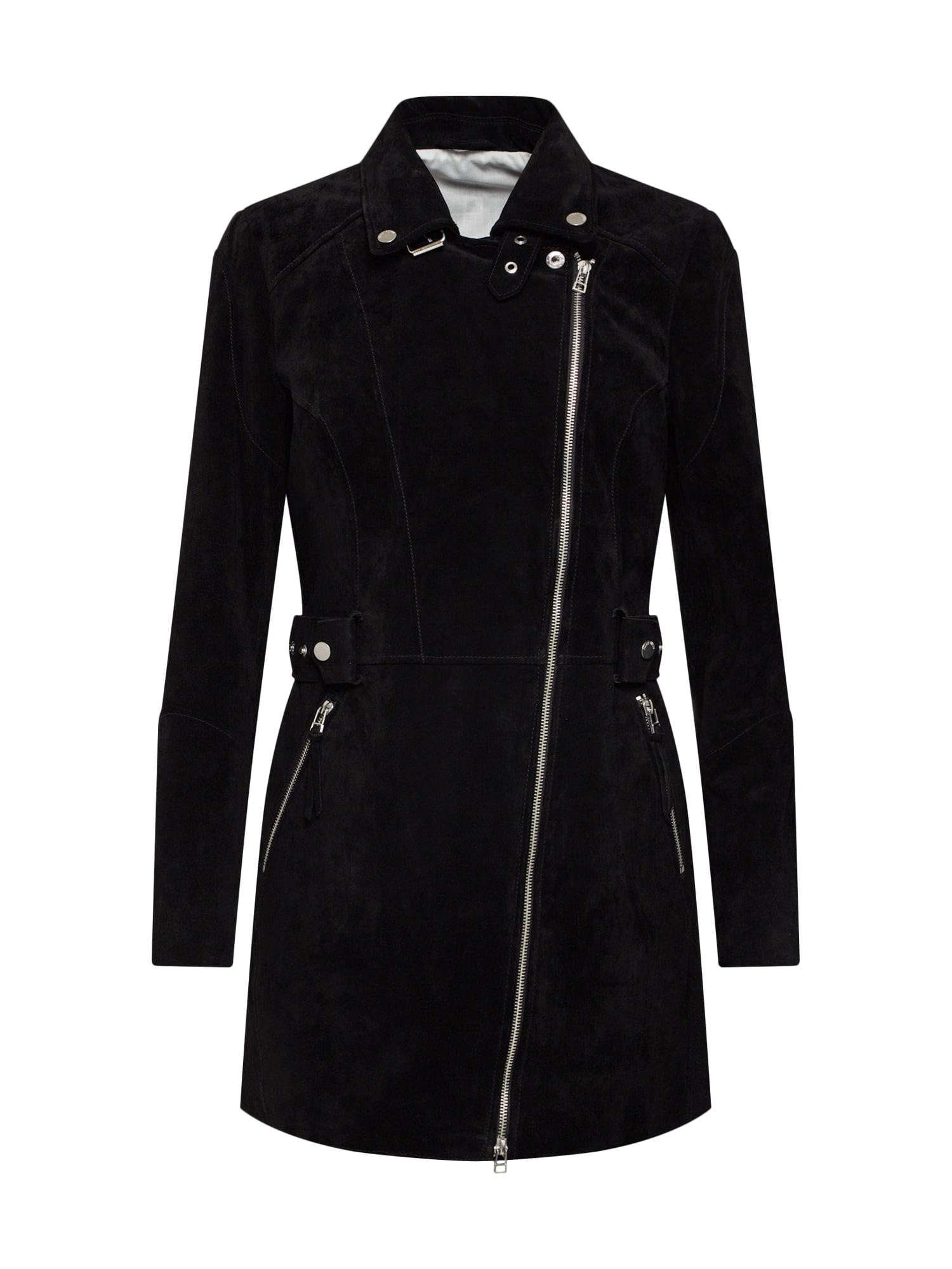 Přechodný kabát Cony Island černá FREAKY NATION