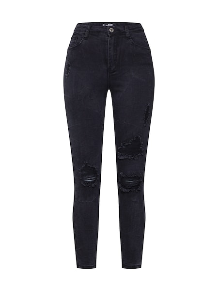 Hosen für Frauen - Missguided Jeans schwarz  - Onlineshop ABOUT YOU