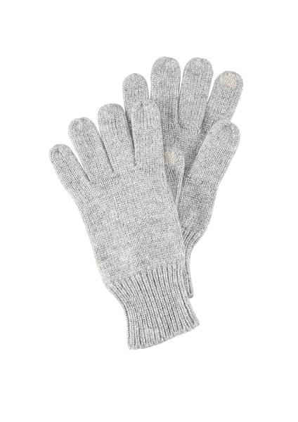 Handschuhe für Frauen - S.Oliver RED LABEL Strickhandschuhe grau  - Onlineshop ABOUT YOU