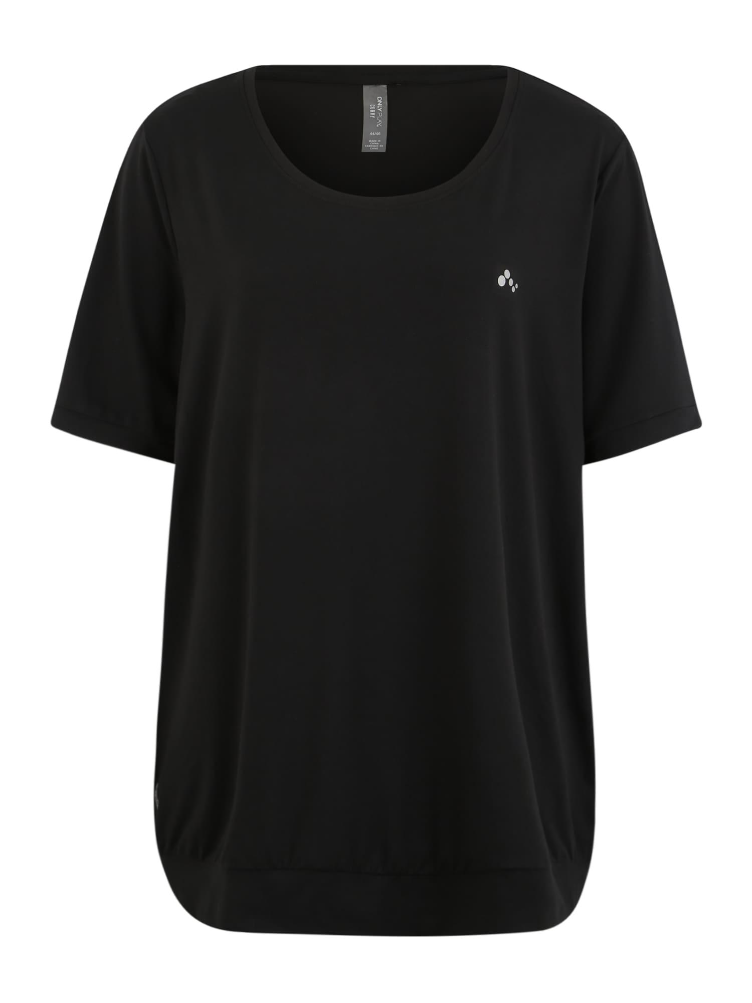ONLY PLAY Sportiniai marškinėliai juoda