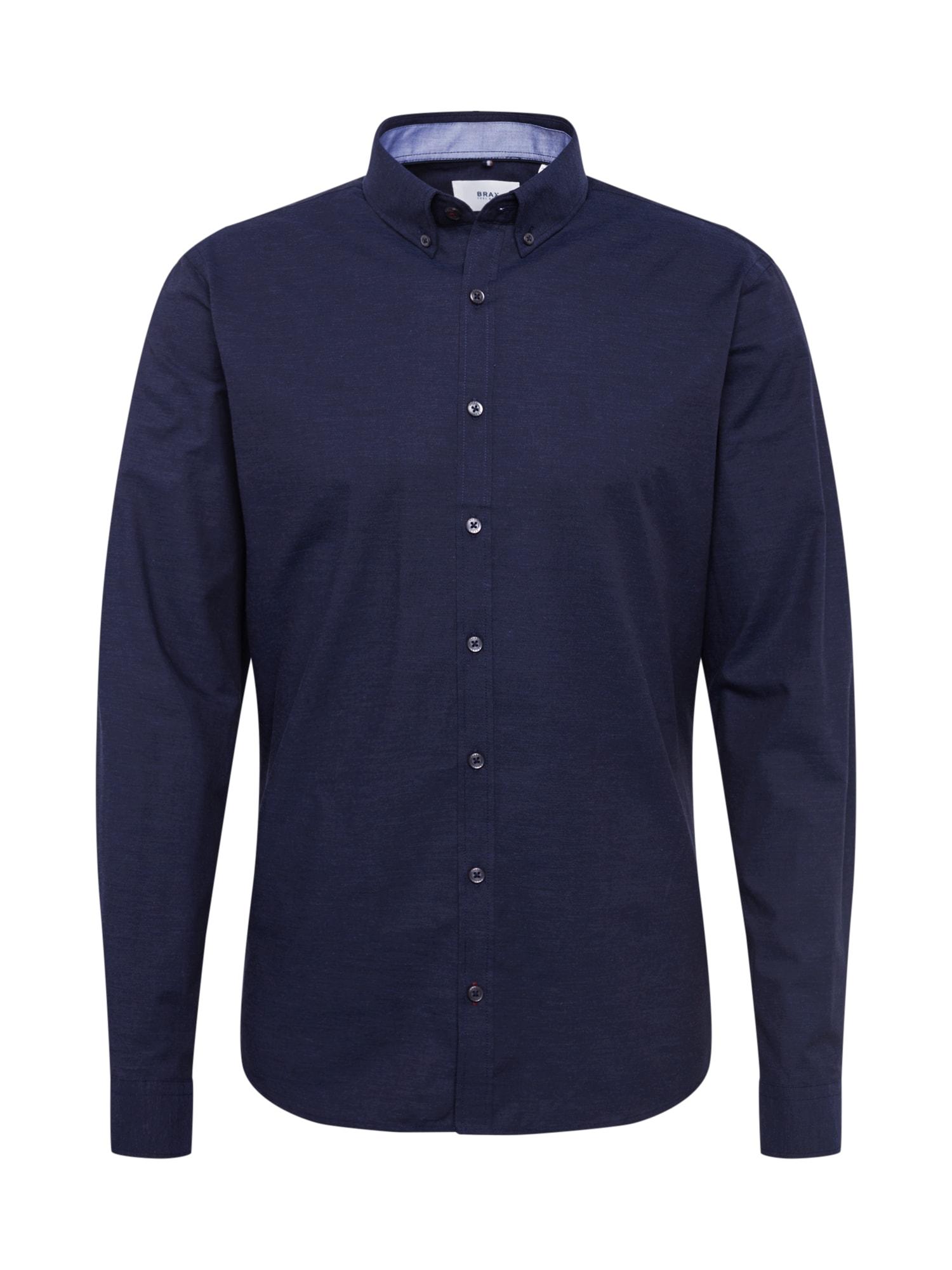 BRAX Dalykiniai marškiniai 'Daniel' tamsiai mėlyna