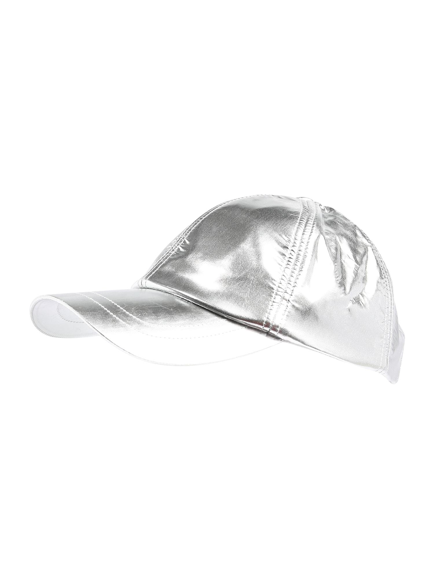 DIESEL Kepurė 'CIBRAME' pilka / sidabras