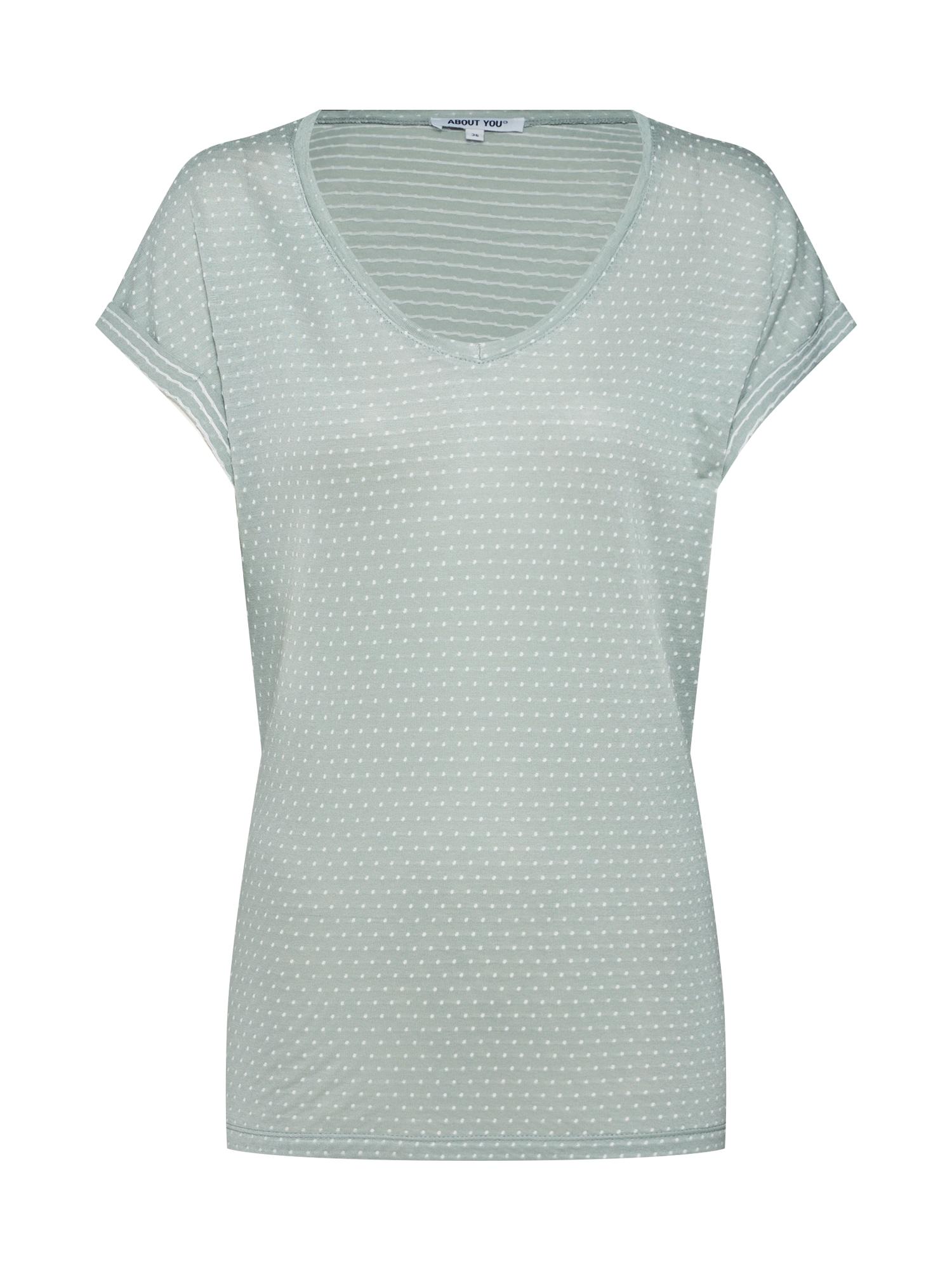 ABOUT YOU Marškinėliai 'Natalia' mėtų spalva