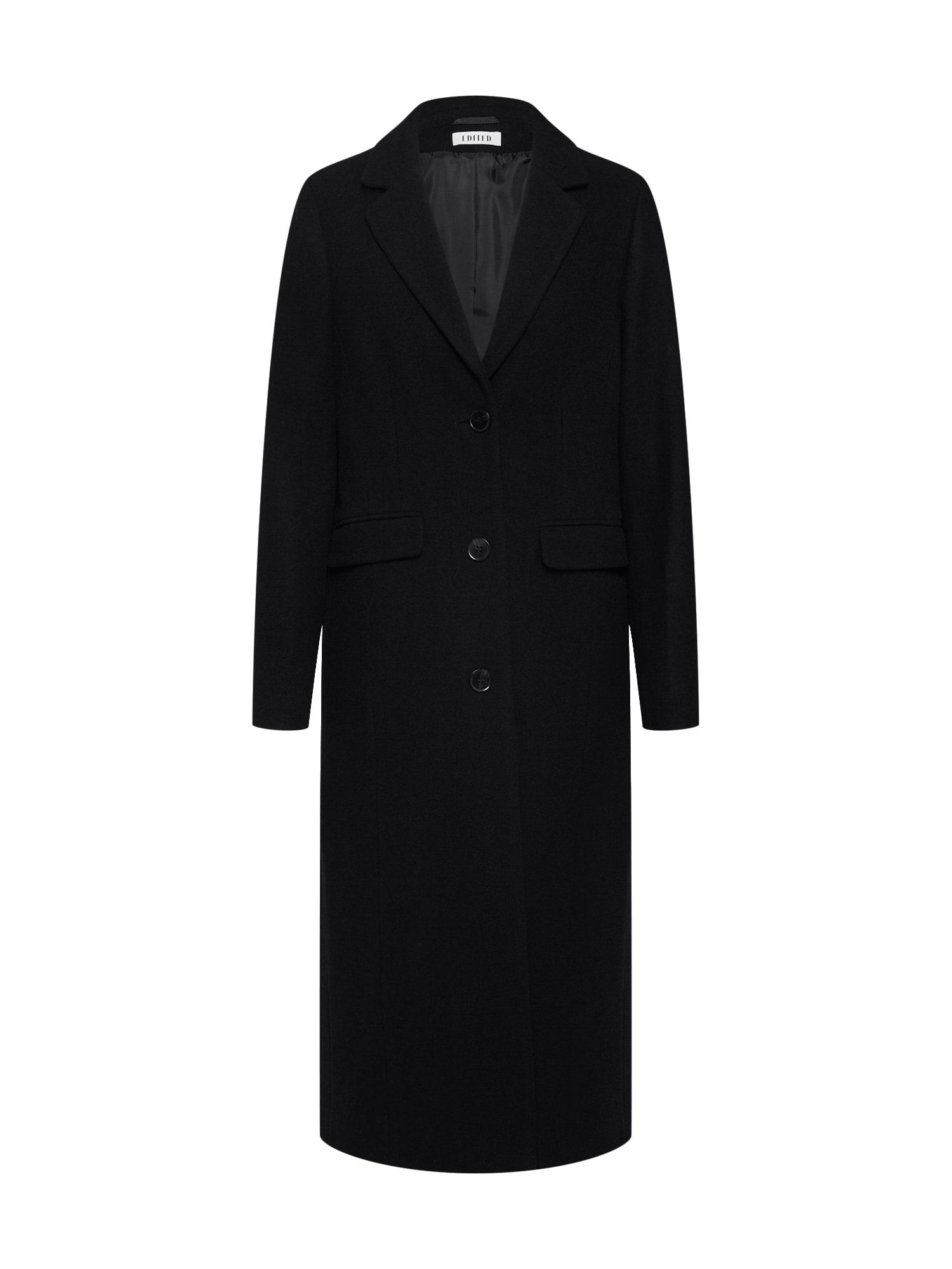 EDITED Prechodný kabát 'Airin'  čierna