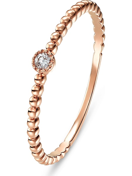 Ringe für Frauen - CHRIST Ring 60142106 rosegold  - Onlineshop ABOUT YOU