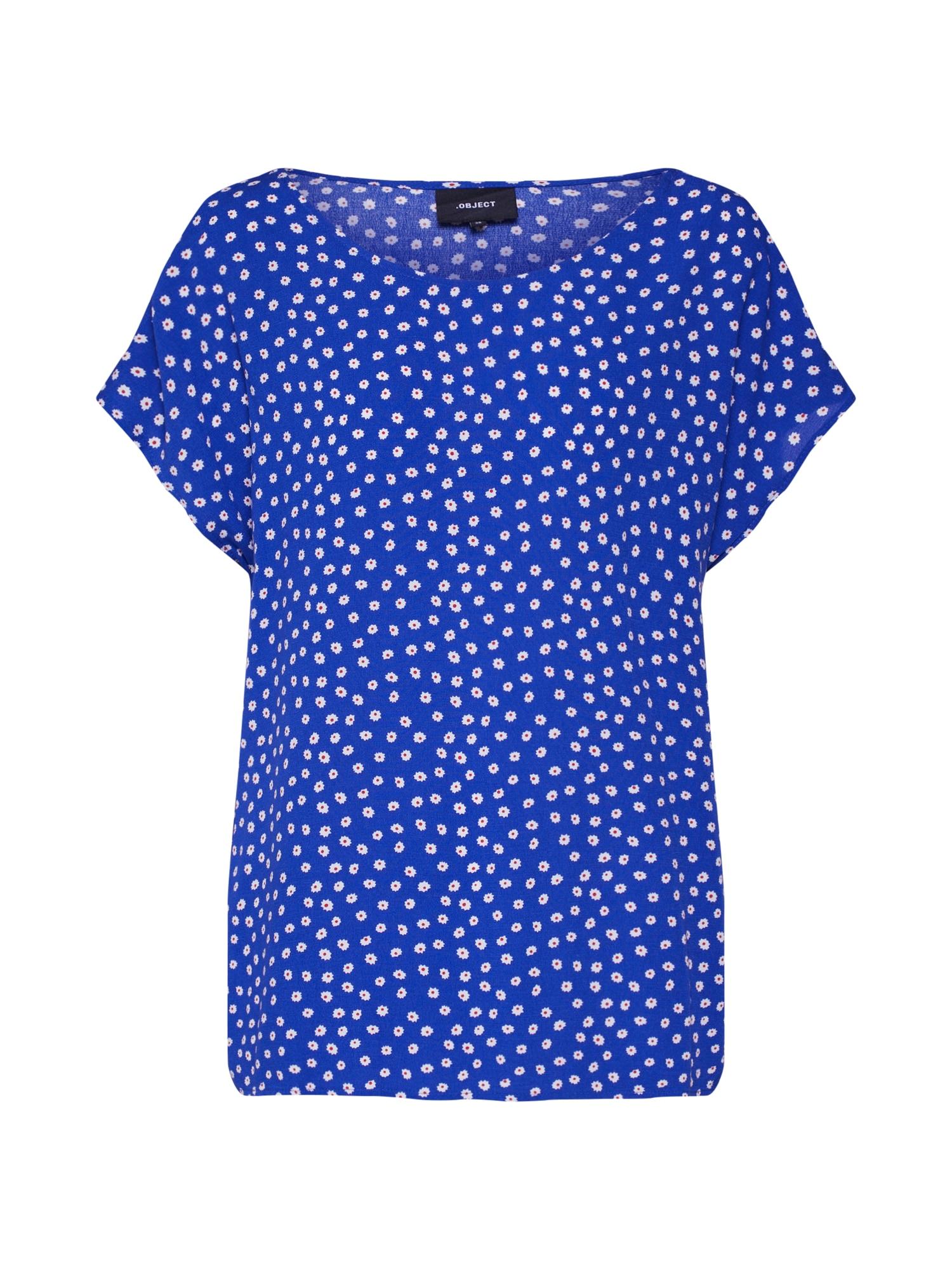 Tričko BAY královská modrá OBJECT