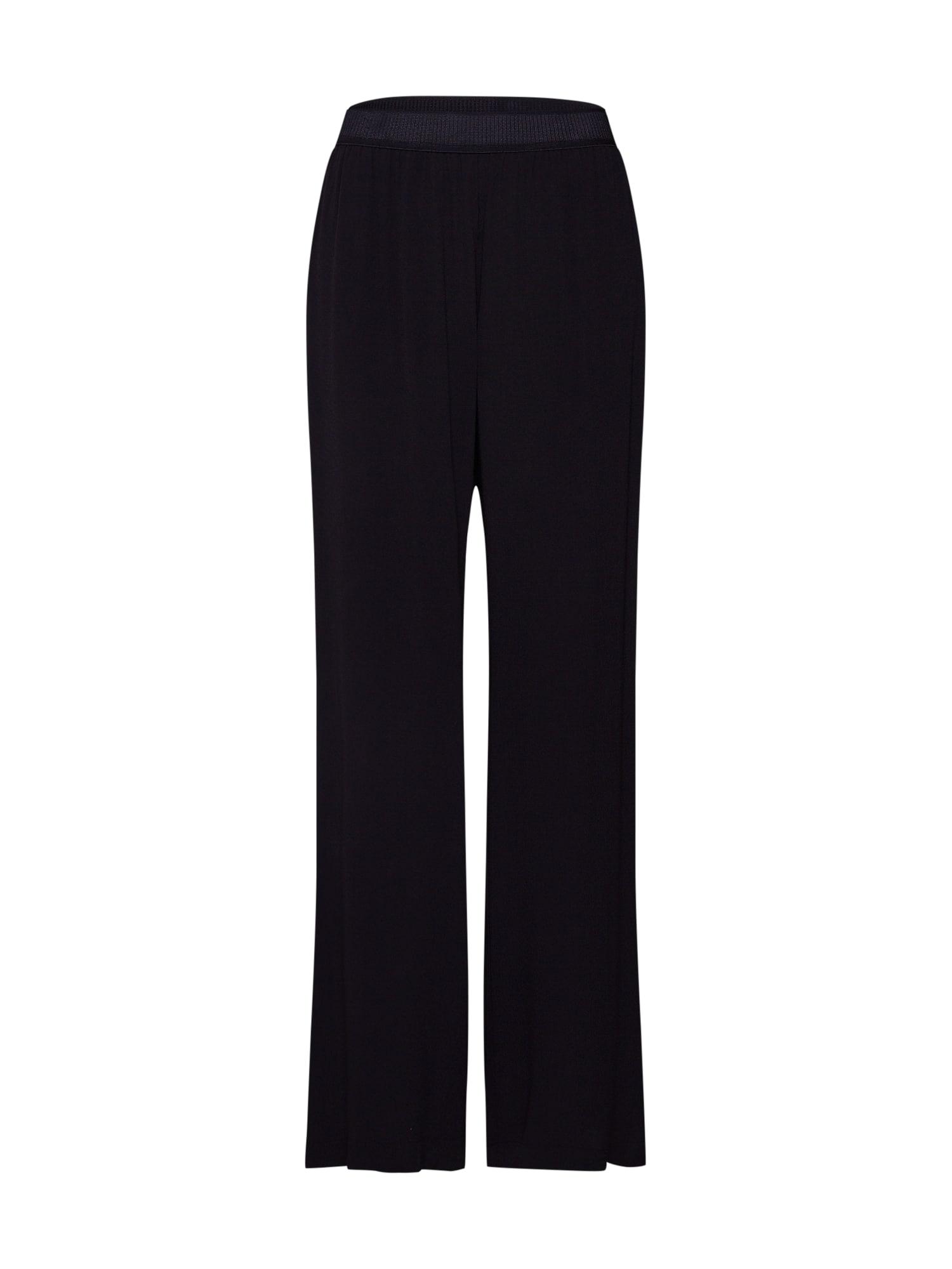 Kalhoty Nessie pants 6515 černá Samsoe & Samsoe
