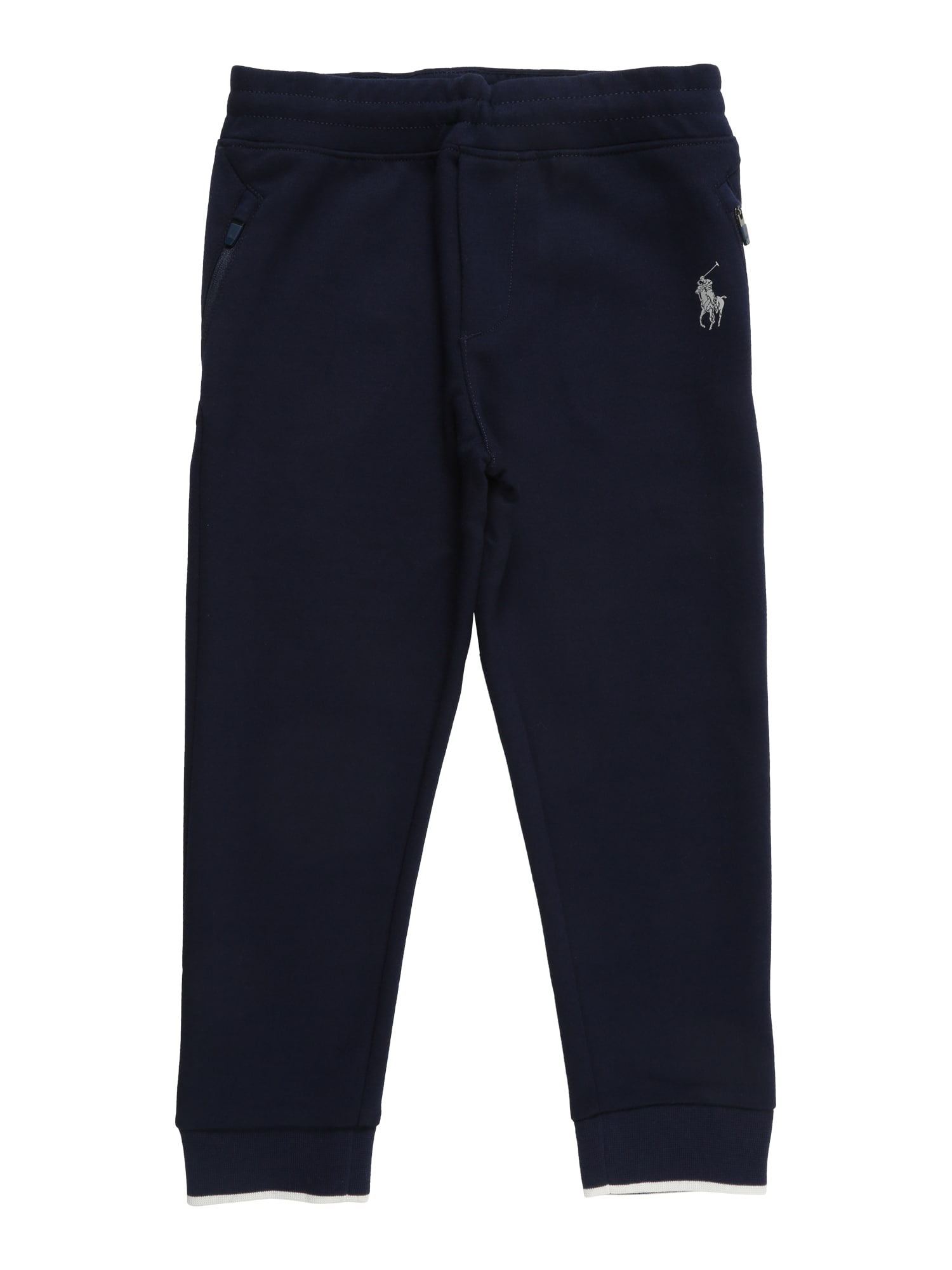Kalhoty JOGGER-BOTTOMS námořnická modř POLO RALPH LAUREN