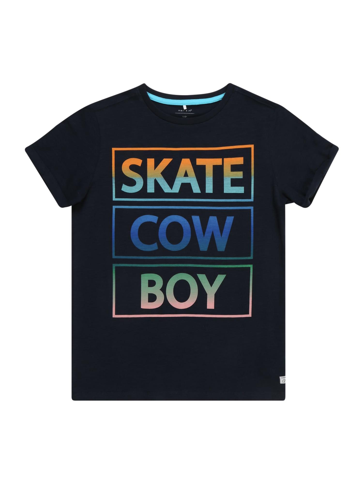 Tričko OLIVER námořnická modř mix barev NAME IT