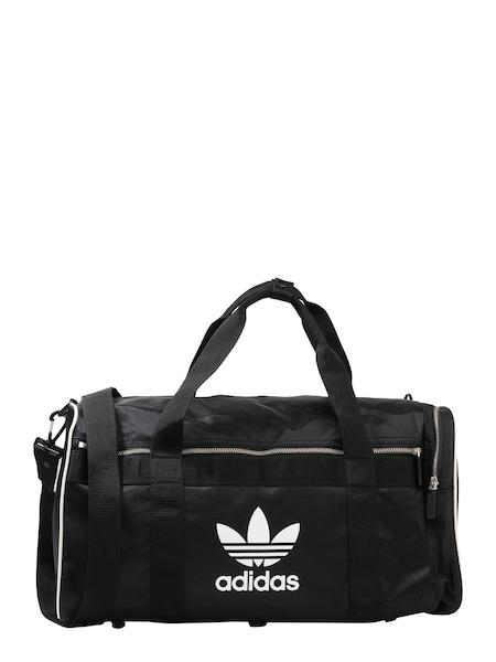 Sporttaschen für Frauen - ADIDAS ORIGINALS Sporttasche 'DUFFLE L ac' schwarz weiß  - Onlineshop ABOUT YOU