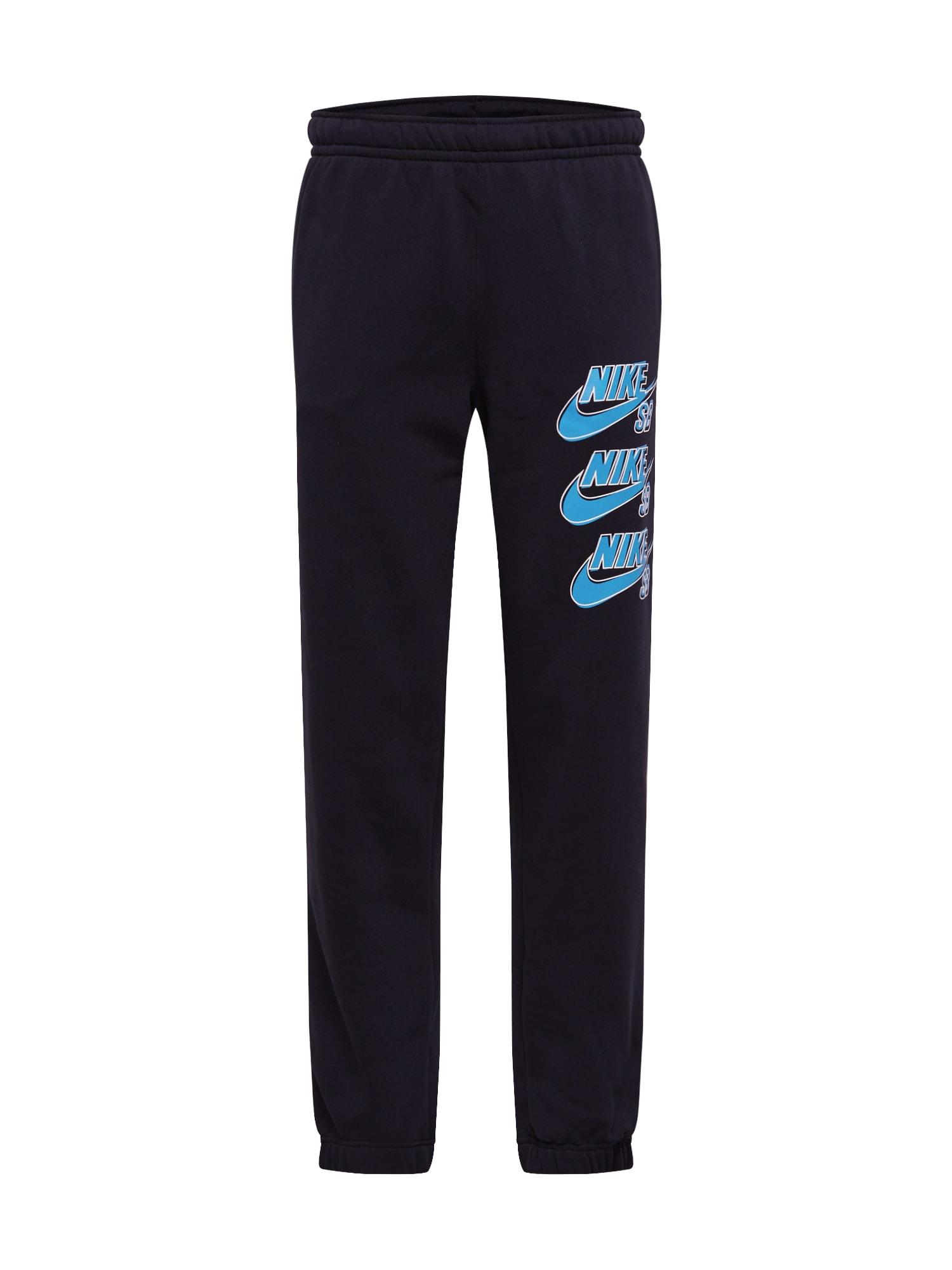 Nike SB Kelnės mėlyna / juoda